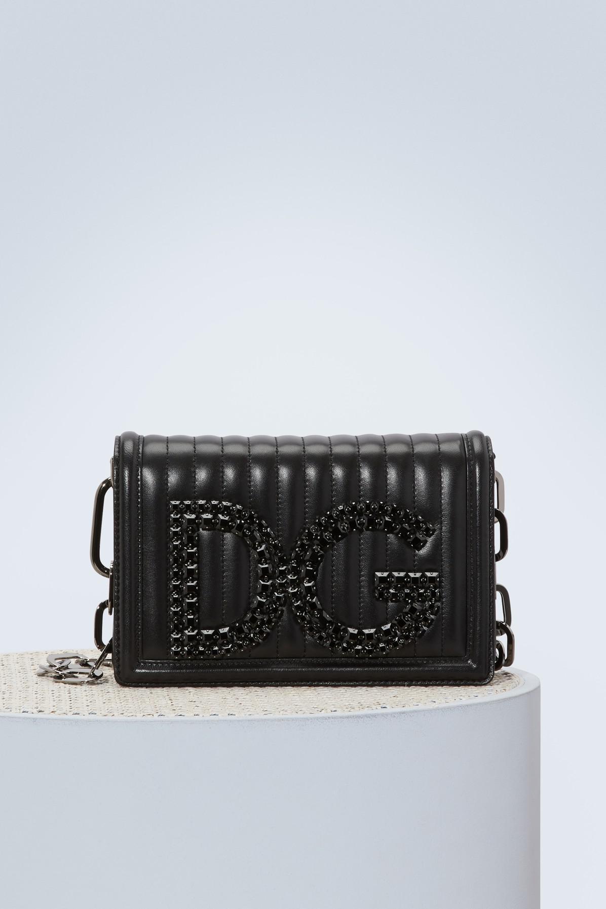 DG Girls shoulder bag - Grey Dolce & Gabbana bRfwh5RjqK