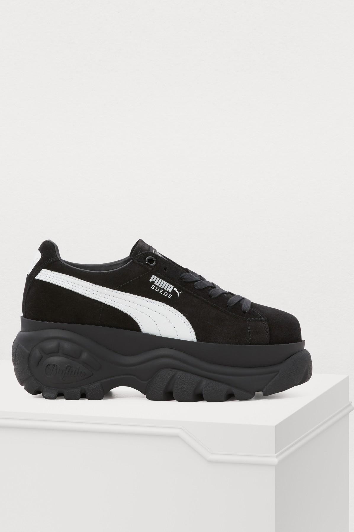 d56c405ce8f PUMA Buffalo Sneakers in Black - Lyst