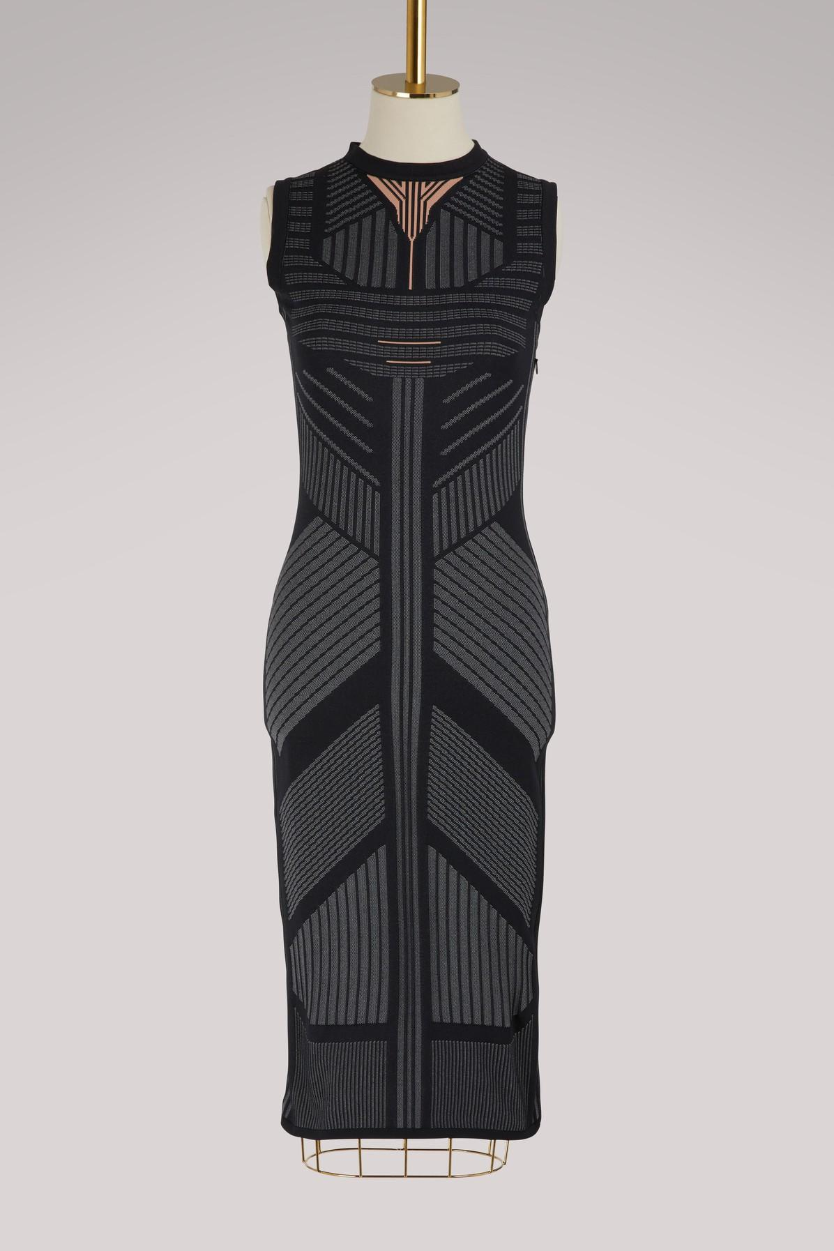f85c58162a Prada Sleeveless Nylon-tech Dress in Black - Save 70% - Lyst