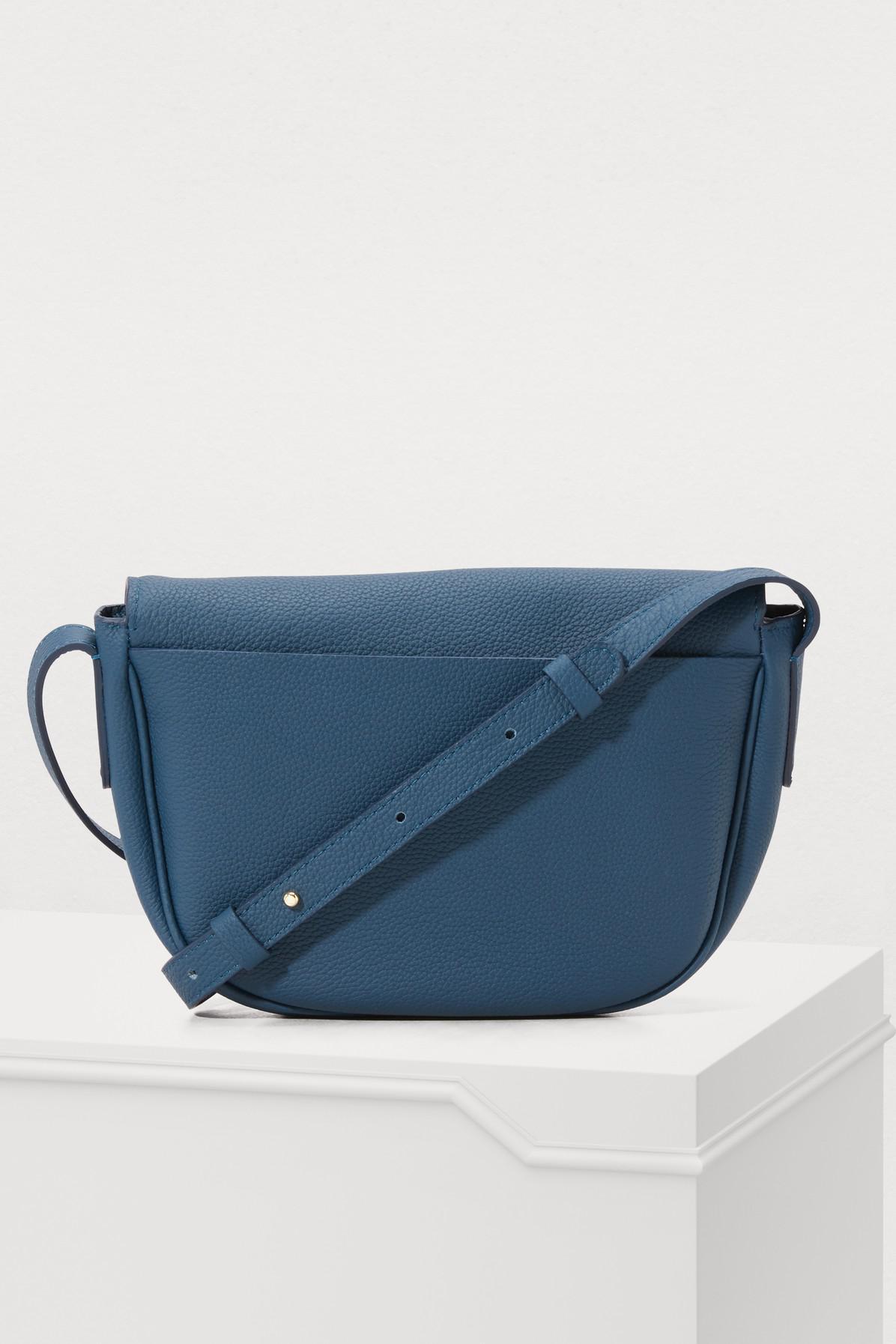 62c52c02f2 Lyst - Repetto Quadrille Crossbody Bag in Blue