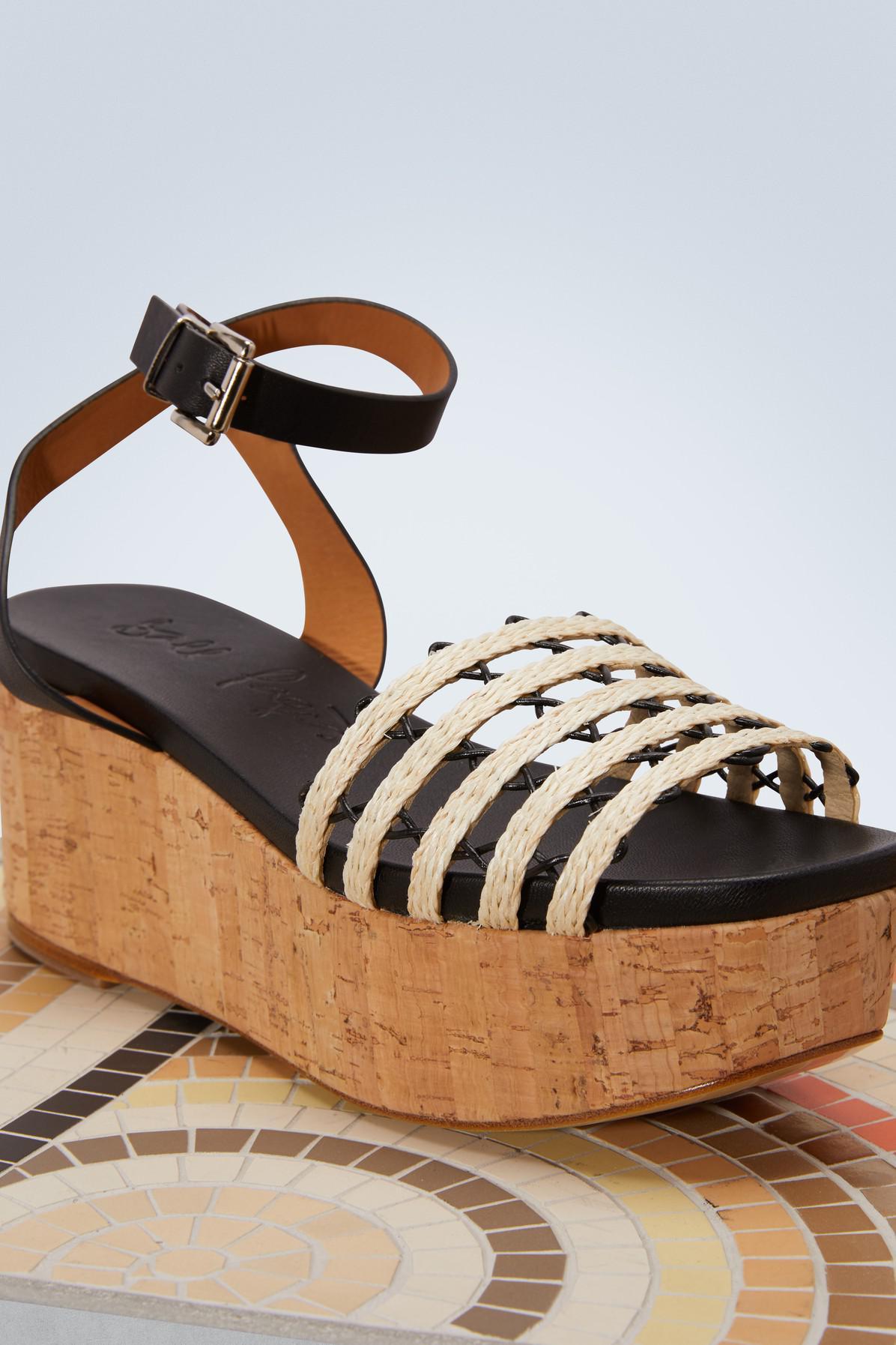 BALL PAGES Marquesa platform sandals 8qkhydF6jM