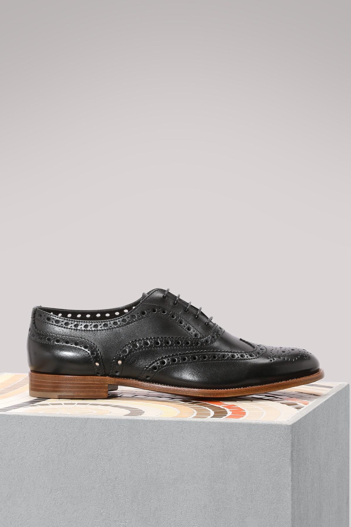 Church's Perforated Burwood 3W brogue shoes QeyvMGa64R