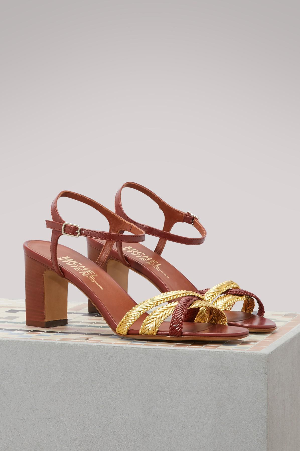 Fiona braided sandals Michel Vivien IS9jqxqUVK