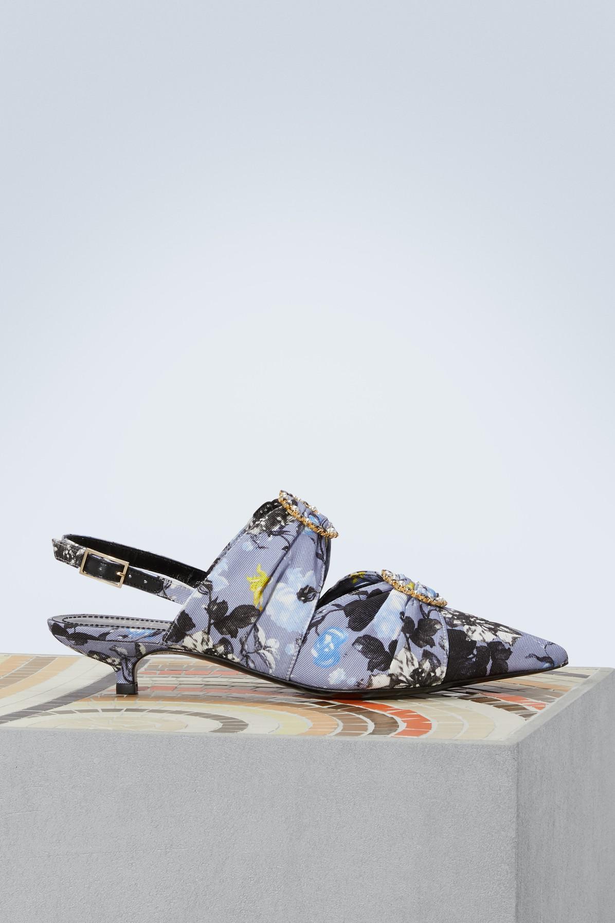 Erdem Chelsea printed sandals UHNxp