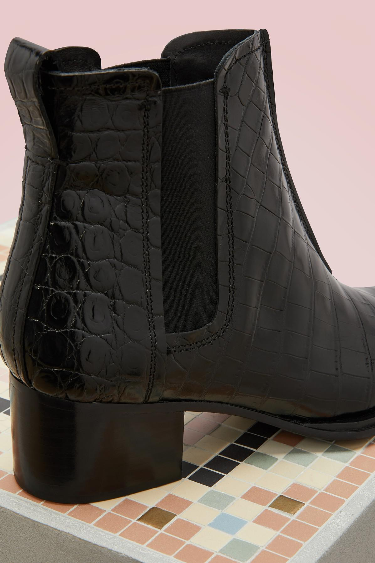 452cfde20b Rag & Bone Walker Ii Boots in Black - Lyst