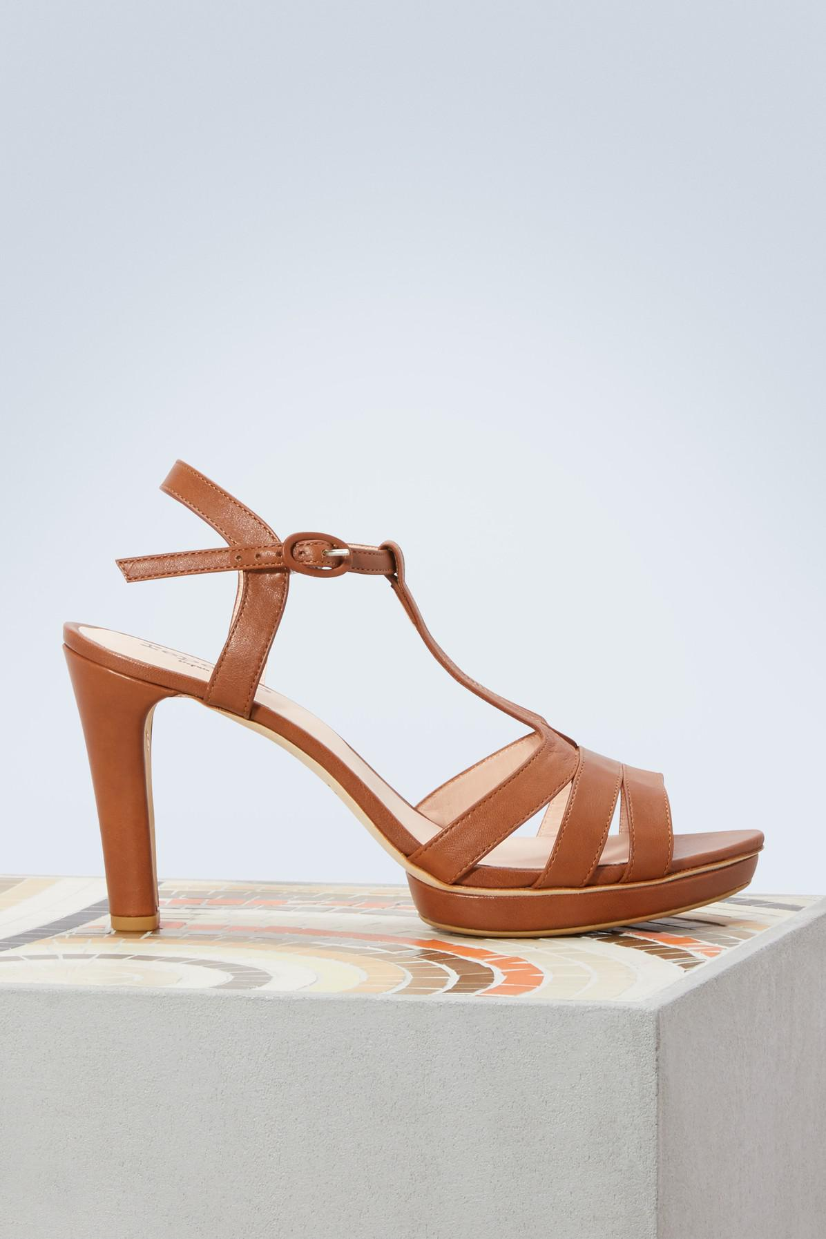 Repetto Bikini heeled sandals crnuLe