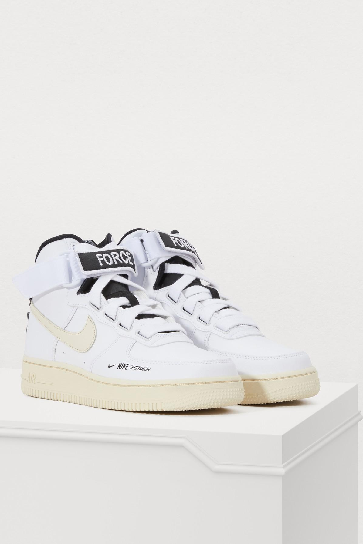 07057f7399 Nike Air Force 1 High Utility Sneakers - Lyst