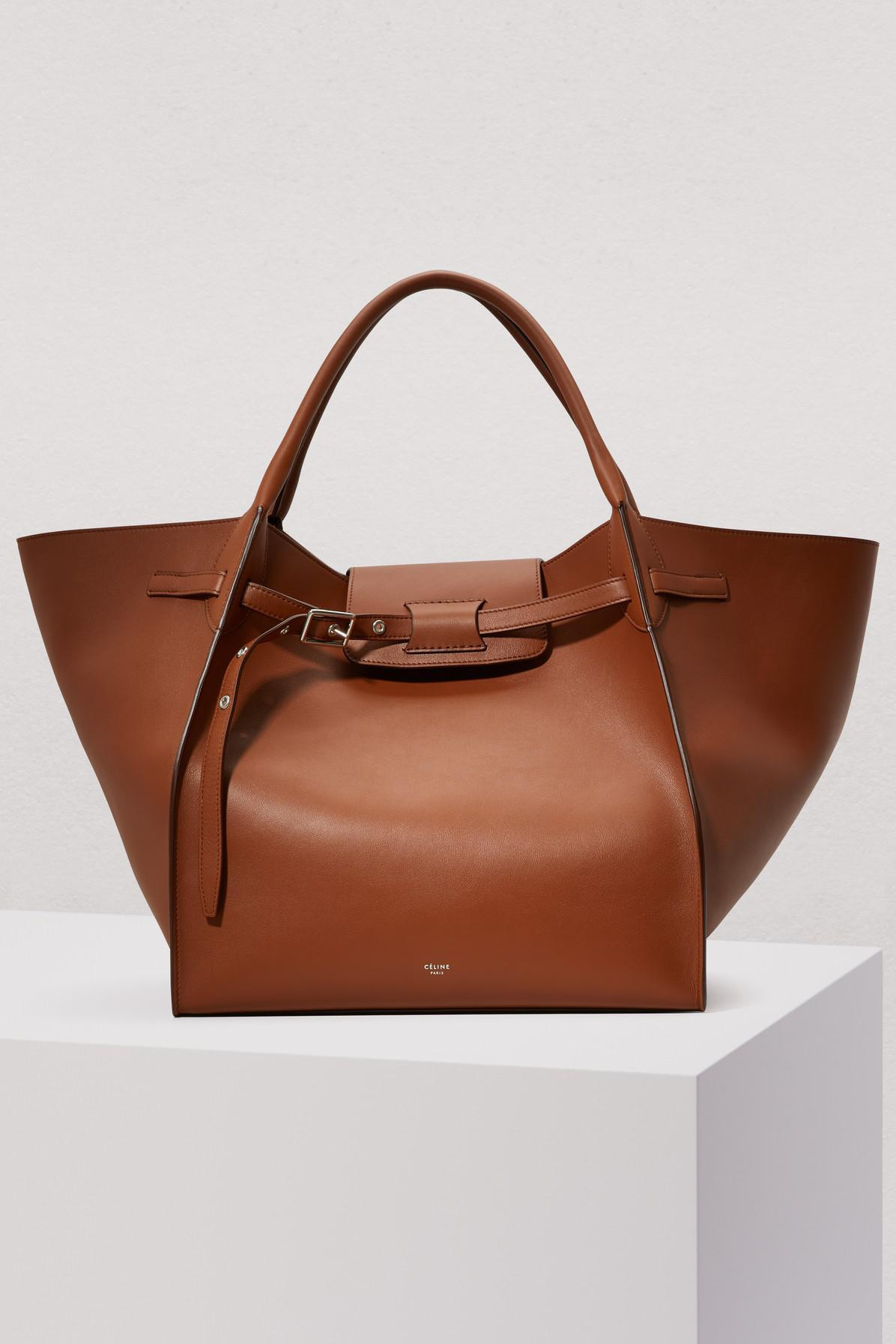 94937baa22 Lyst - Céline Medium Big Bag In Smooth Calfskin in Brown