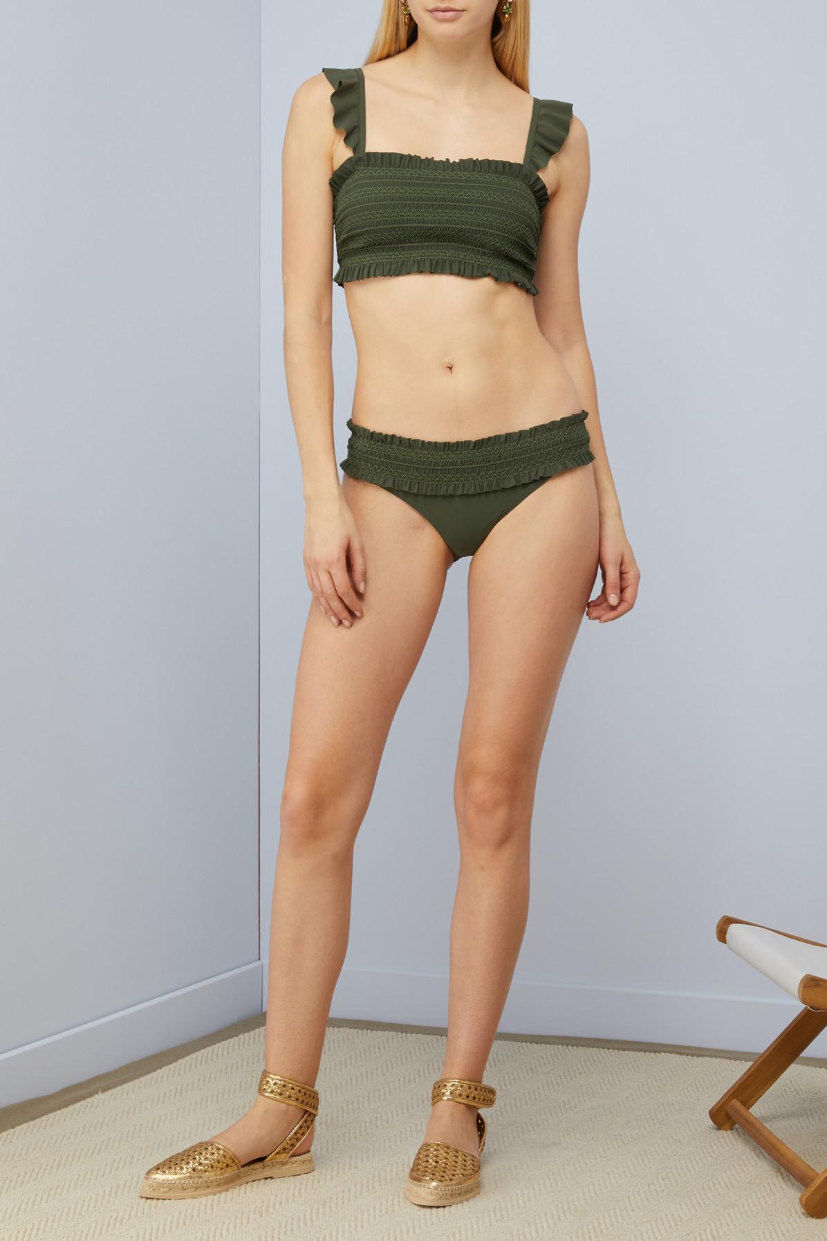 Meilleur Pas Cher Tory Burch Haut de bikini Smock Obtenir Authentique En Ligne 90nMTUdN