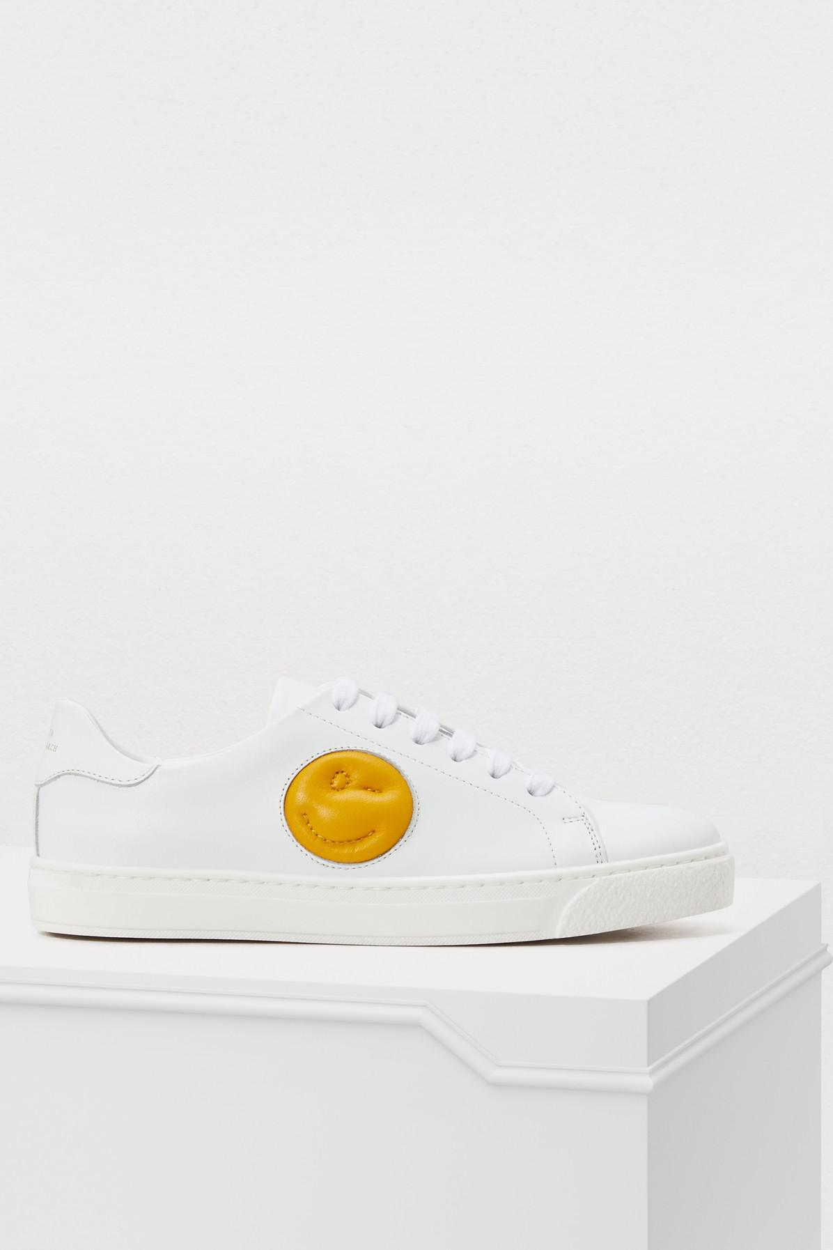 Anya Hindmarch Chubby Wink leather sneakers 8jL2d
