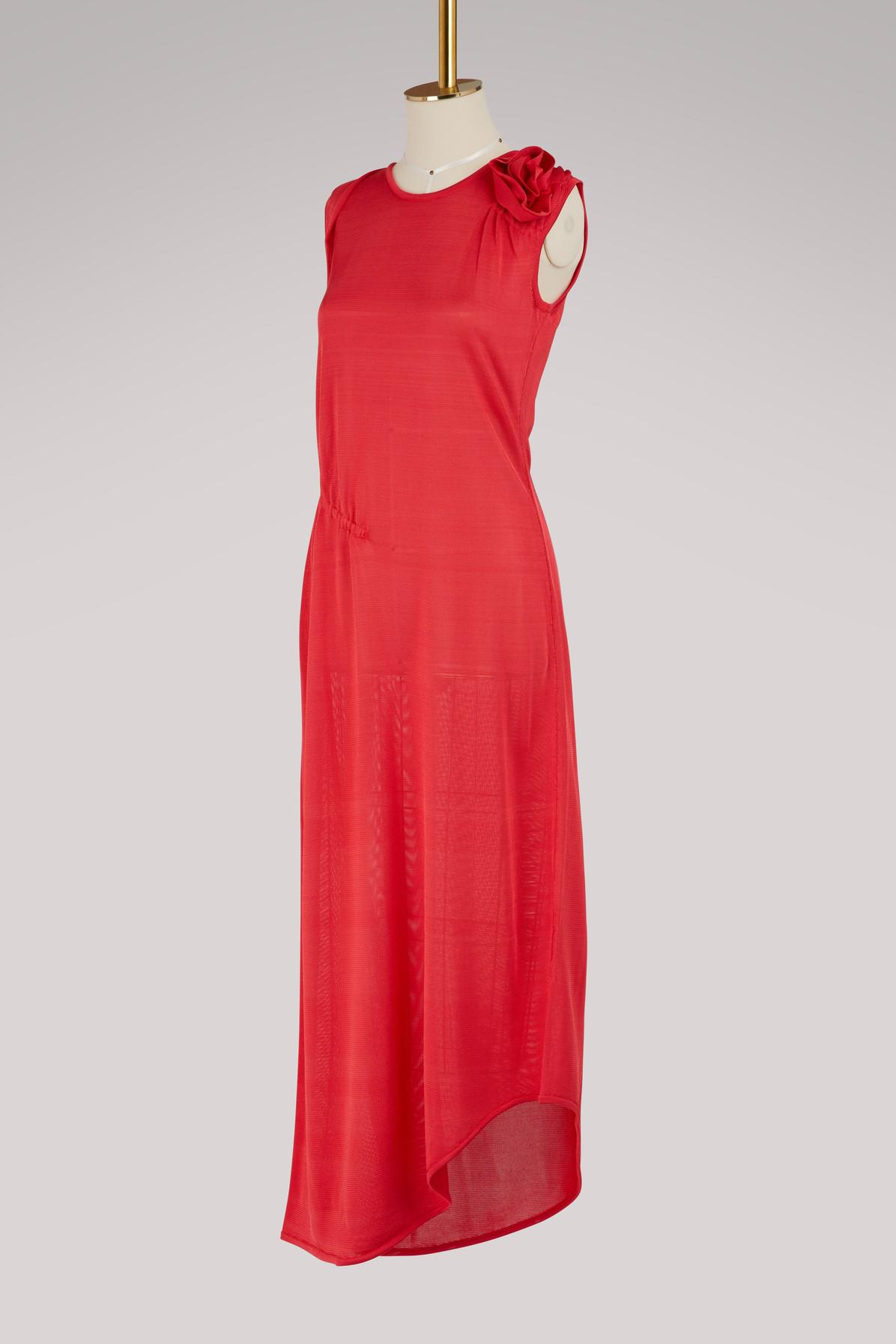 Asymmetrical viscose dress Lanvin 6JKMi0