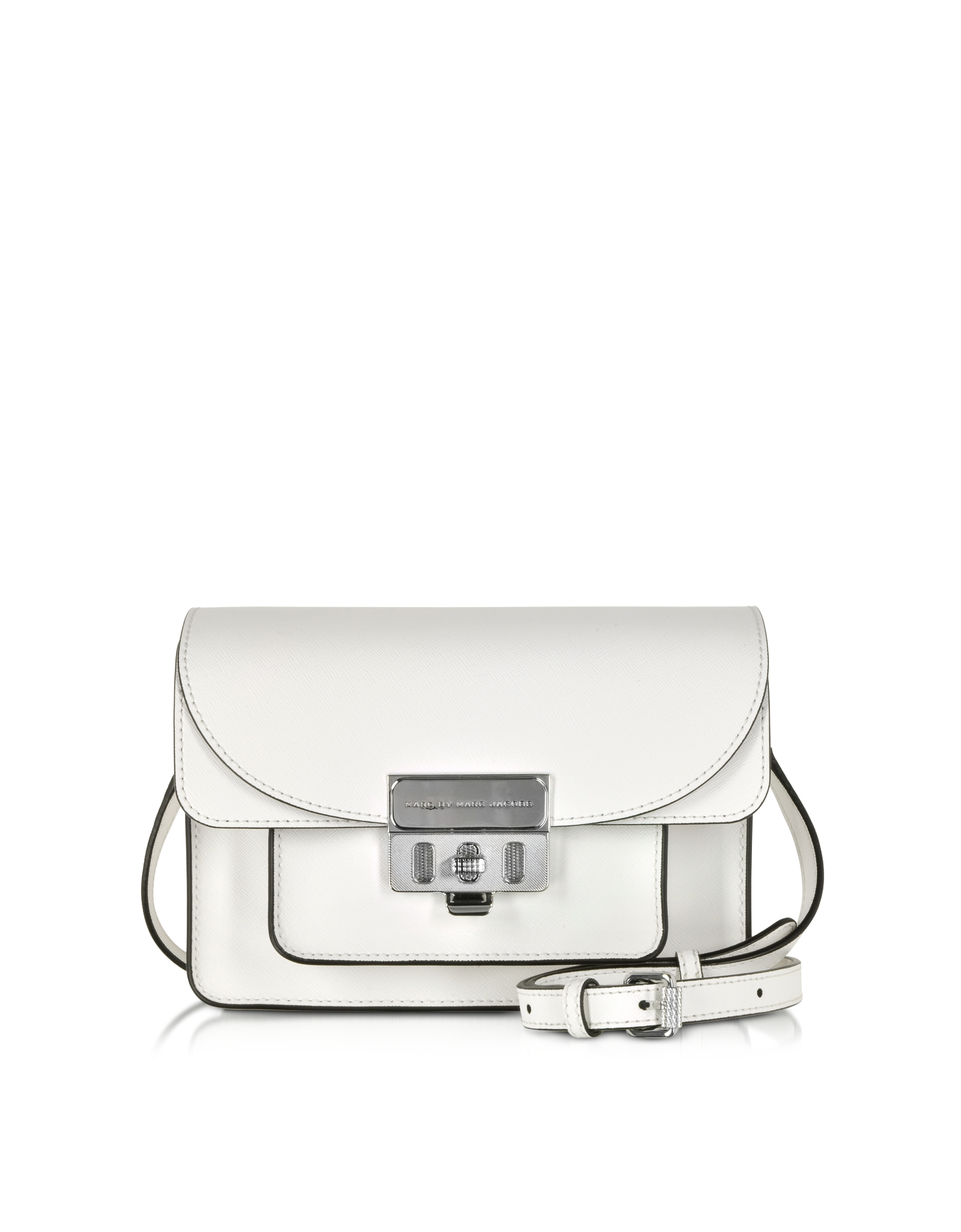 6155bf4e9 Marc By Marc Jacobs Lip Lock Star White Xbody Bag in White - Lyst