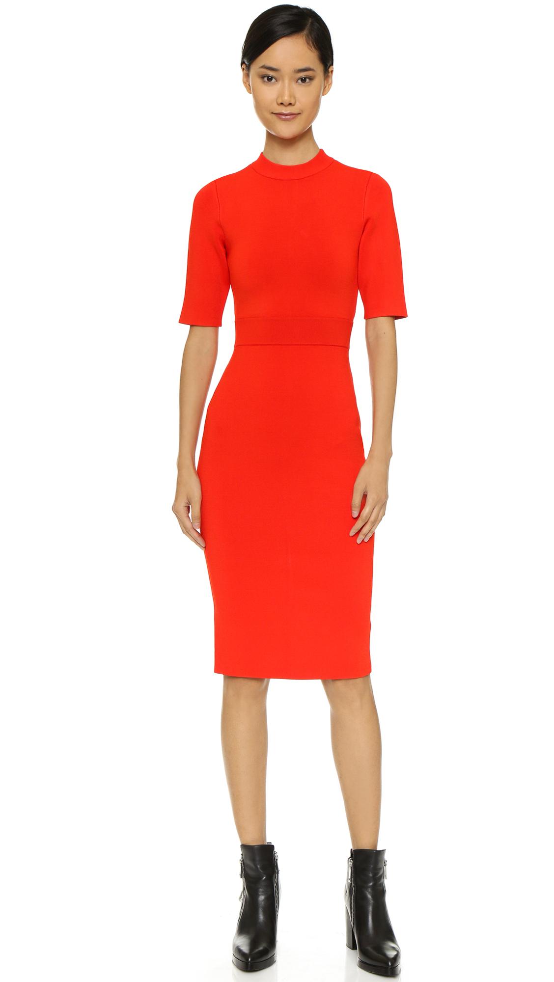 A.L.C. Scoppa Dress in Red - Lyst