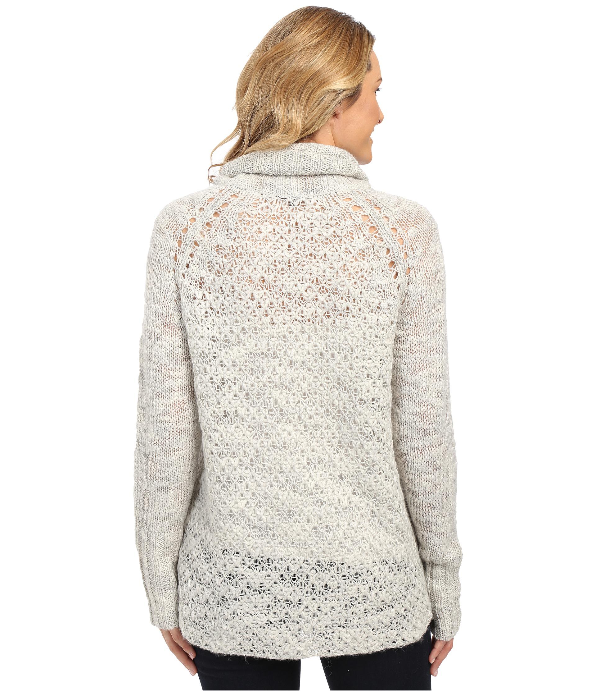 Sanctuary Cozy Tunic Sweater in Metallic | Lyst