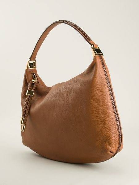 Brown Hobo Shoulder Bag 87