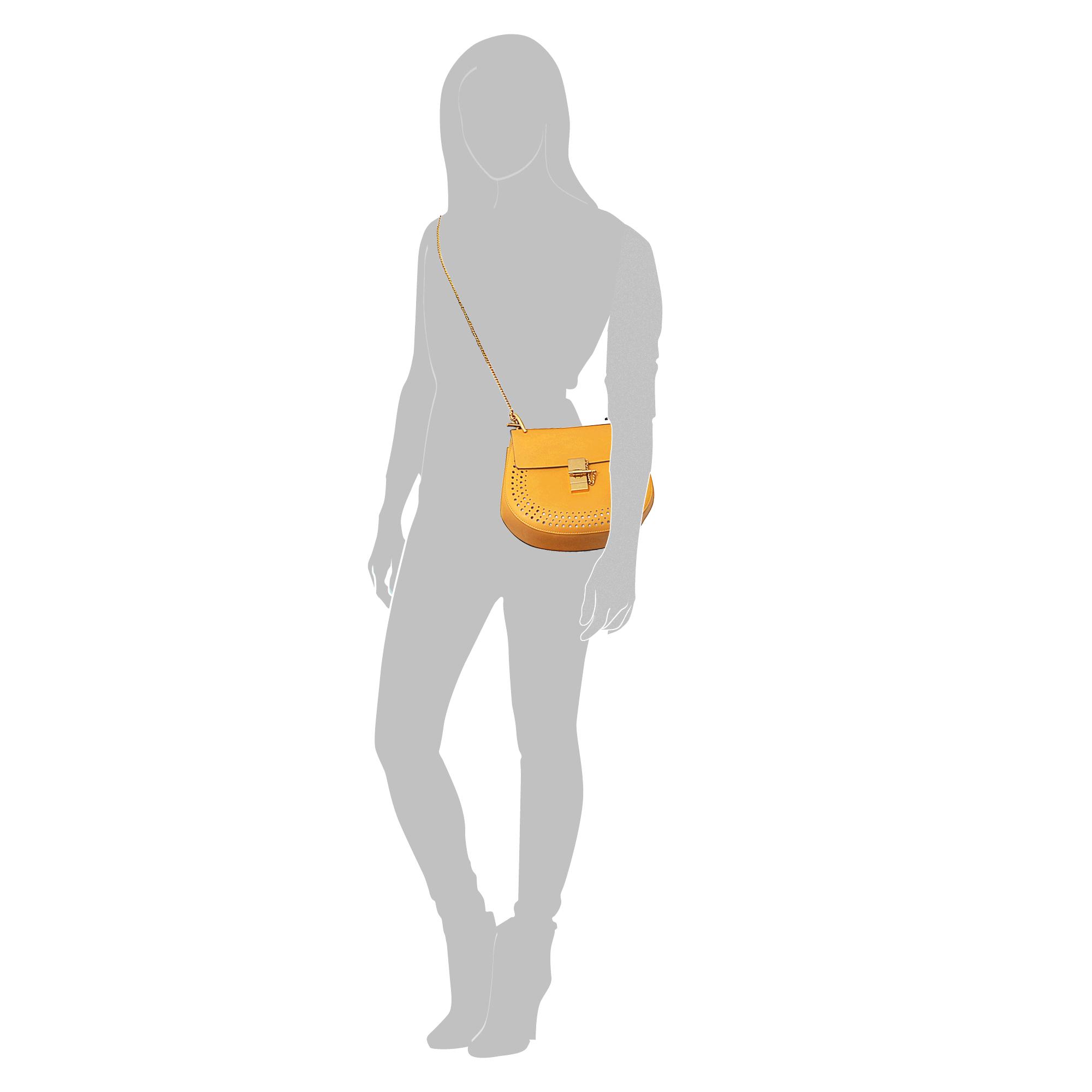 chloe purse yellow