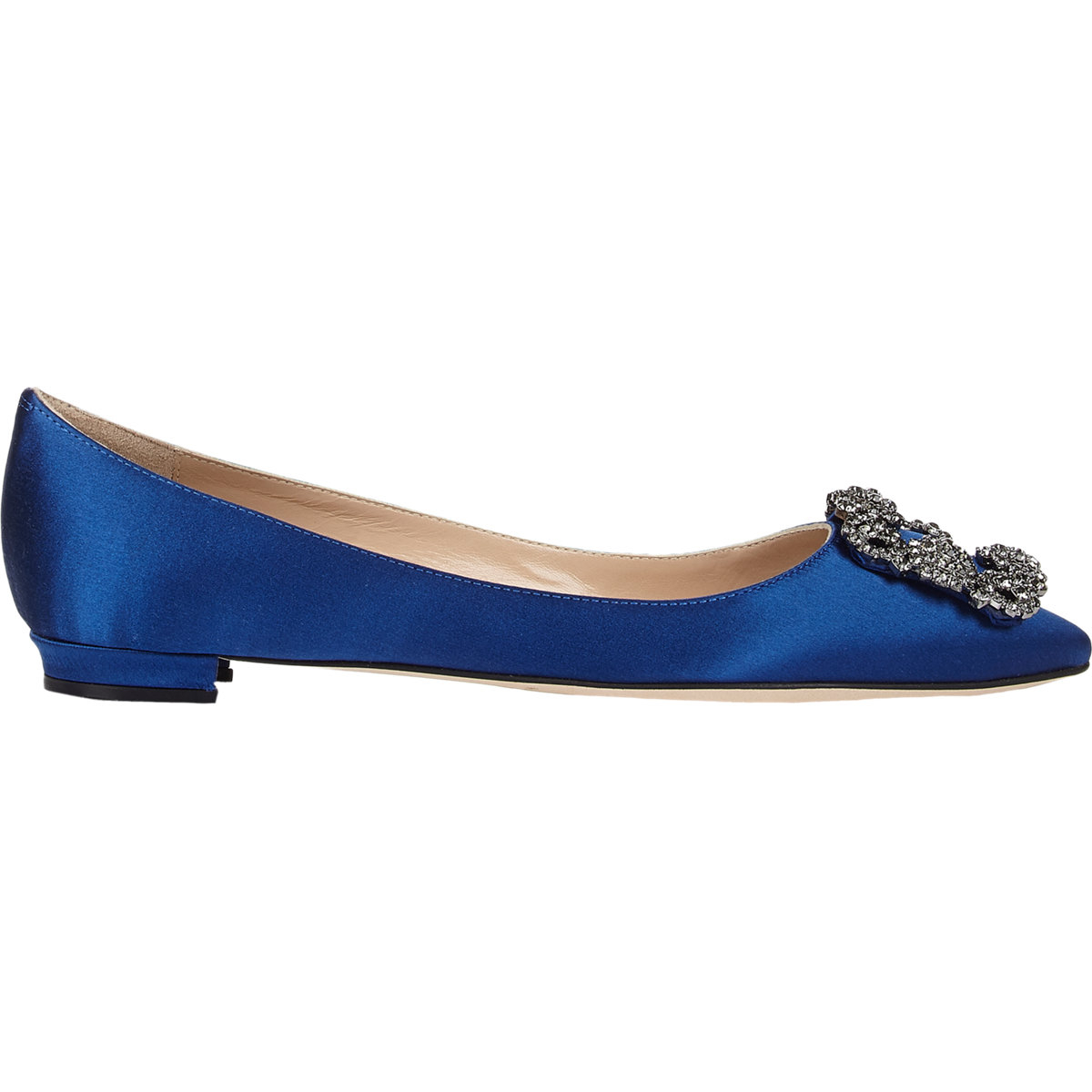 manolo blahnik shoes blue flats