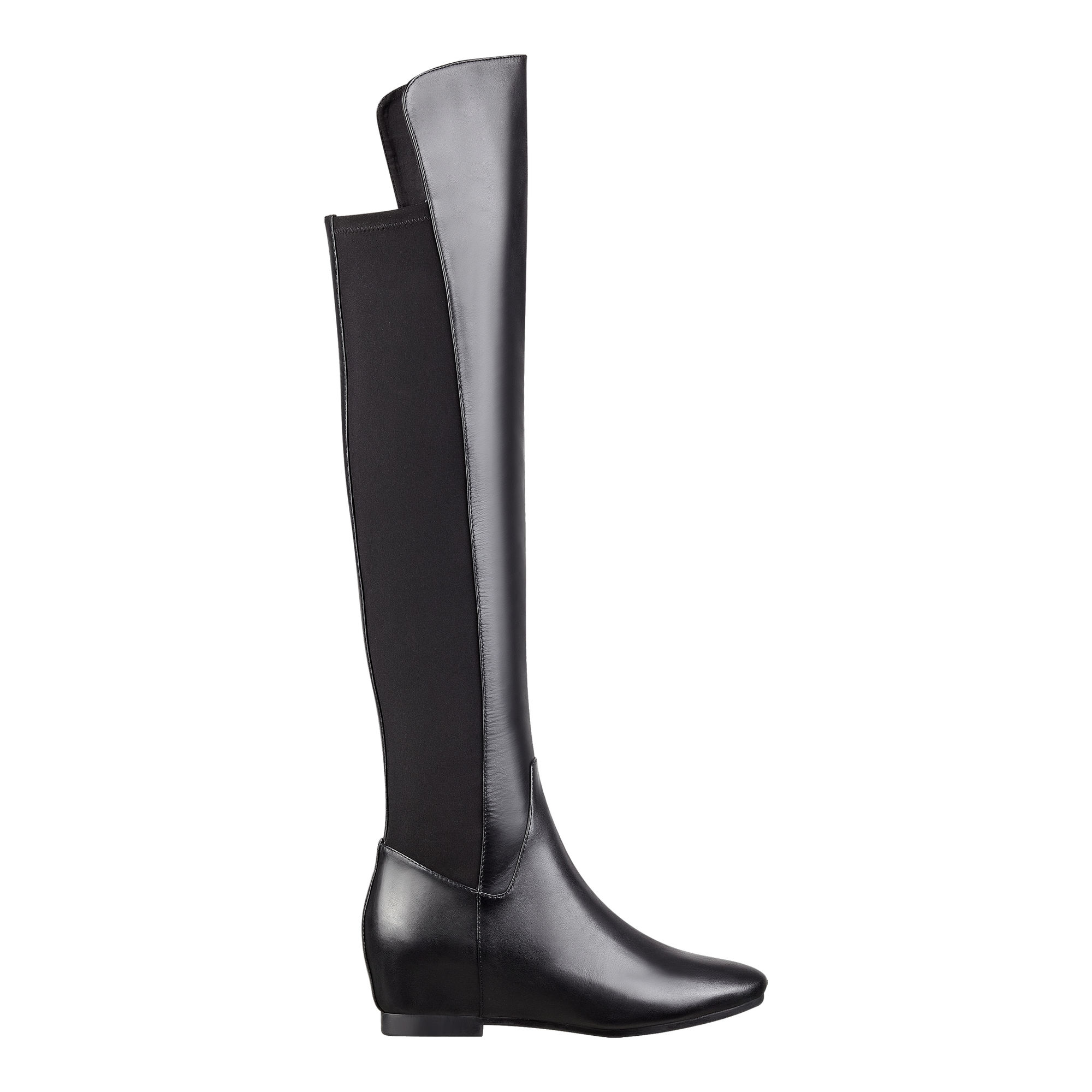38ec3ec26e9 Lyst - Nine West Tiberia Leather Over-The-Knee Boots in Black