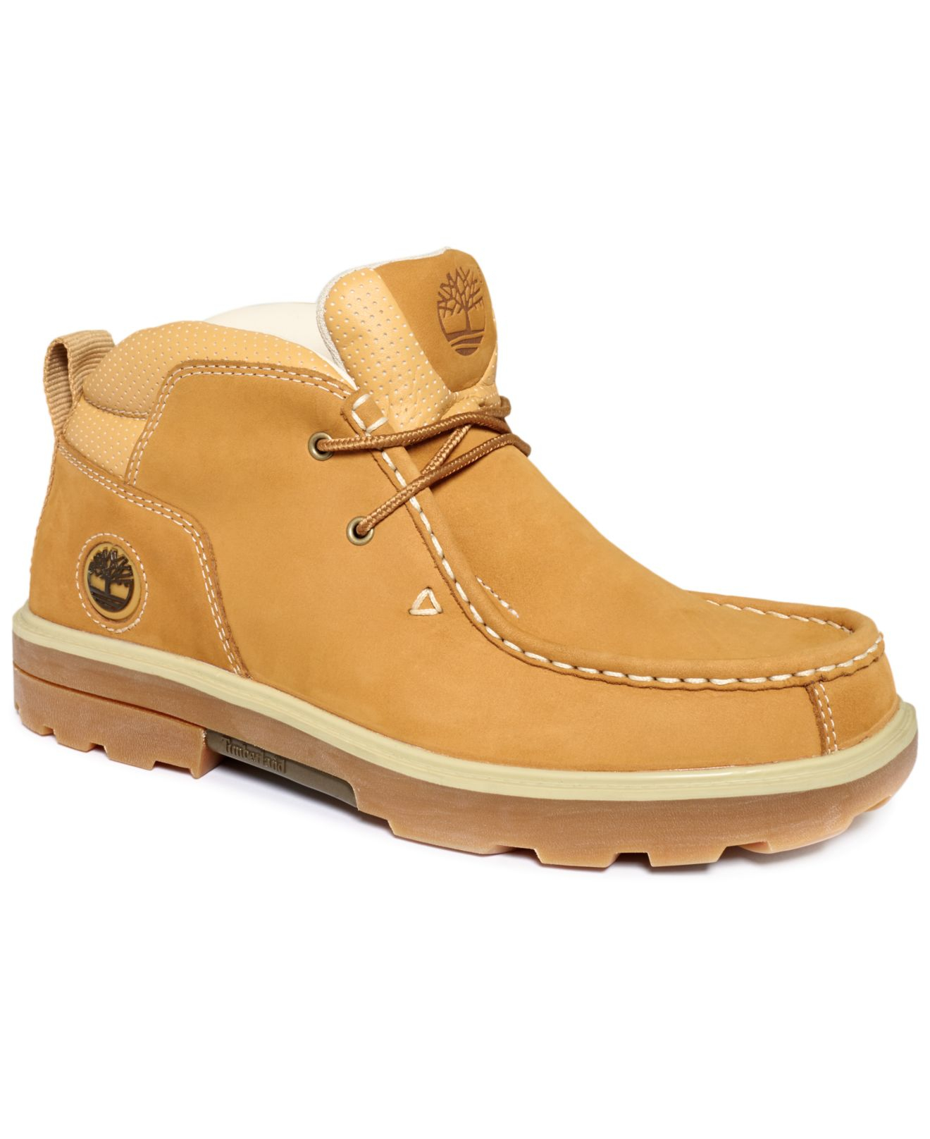 Lyst Timberland Rugged Street Boots In Natural For Men