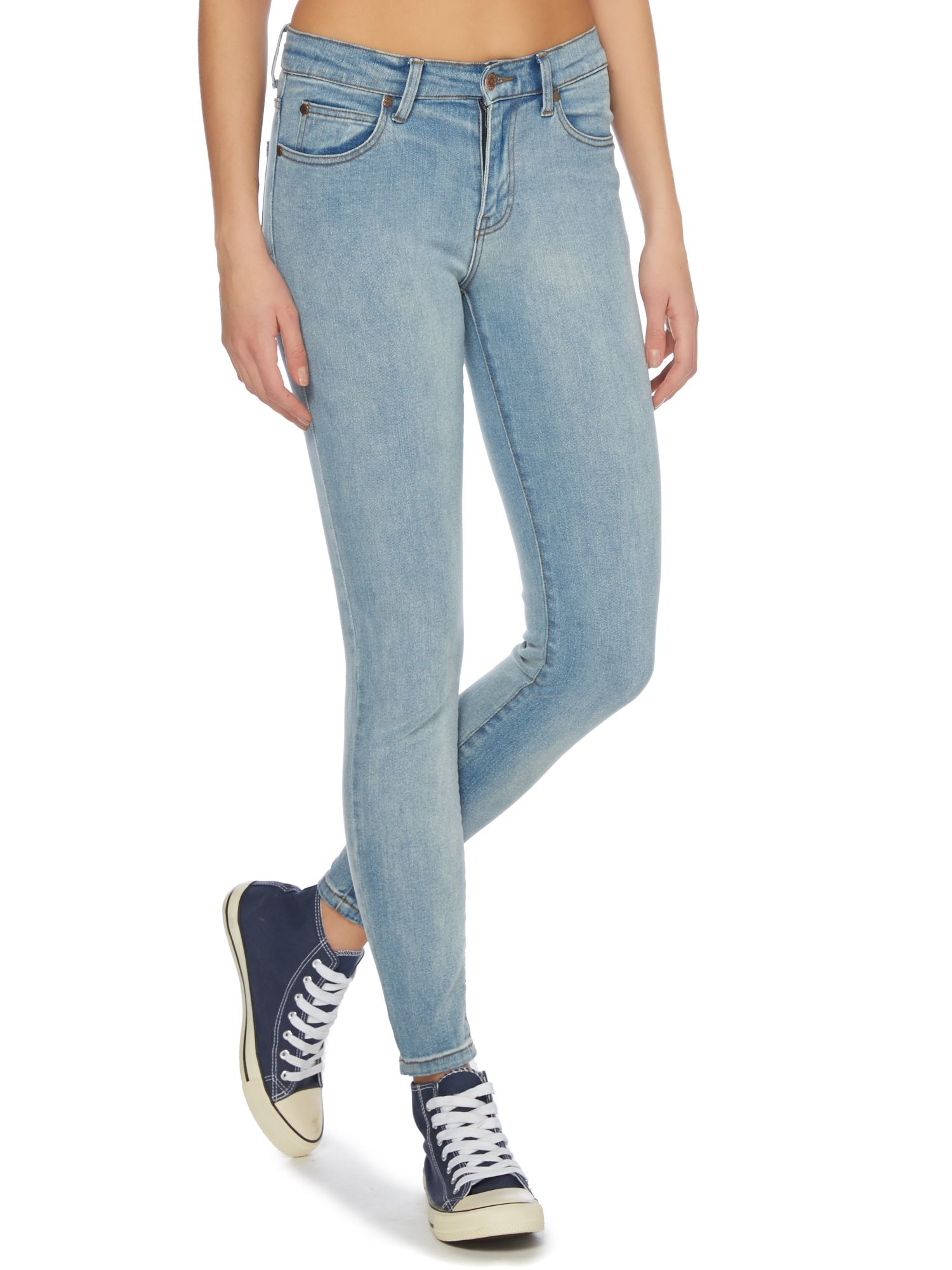 Dr denim regina 5 pocket skinny jeans