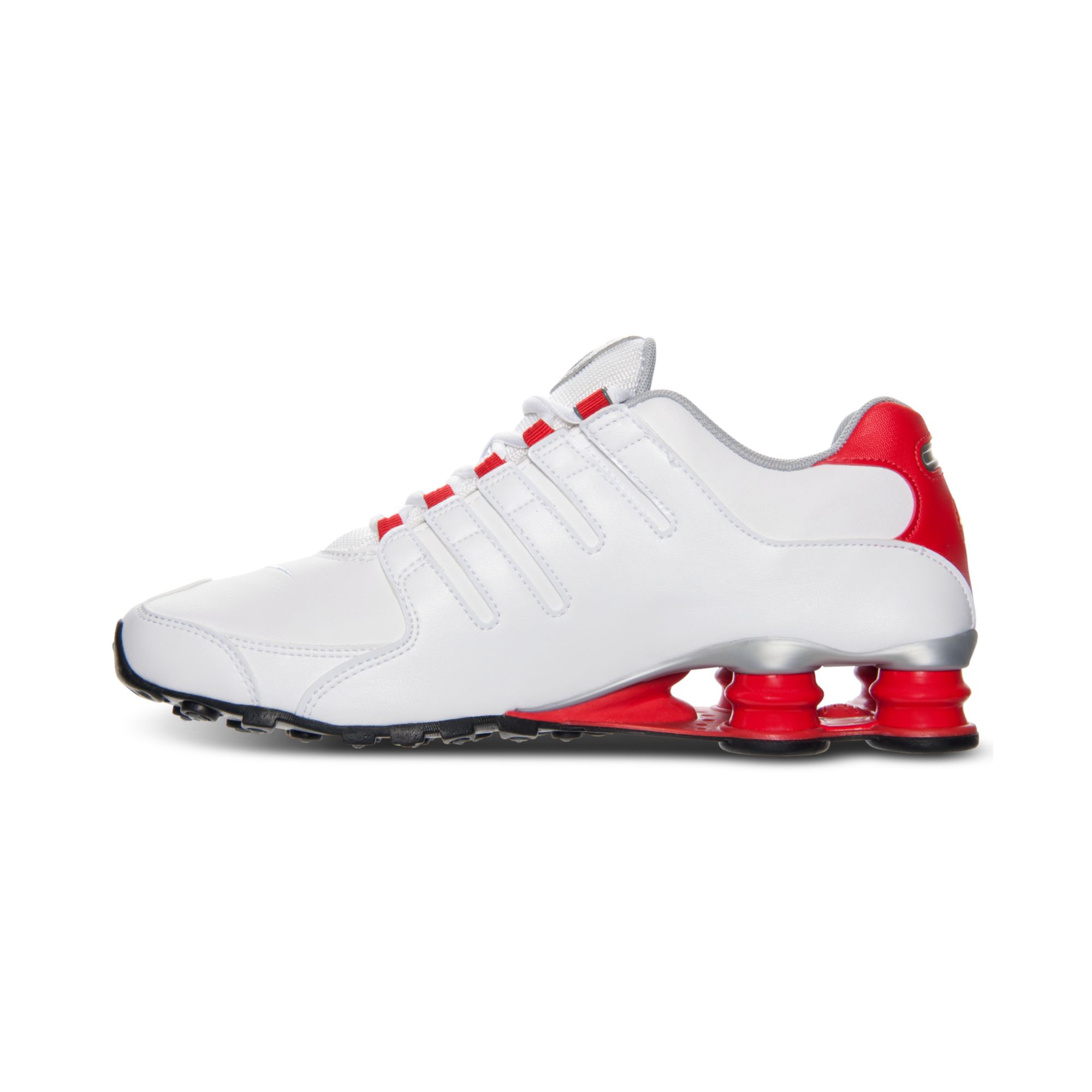 official photos 0baa8 478ba Nike Mens Shox Nz Running Sneakers From Finish Line in White for Men ...