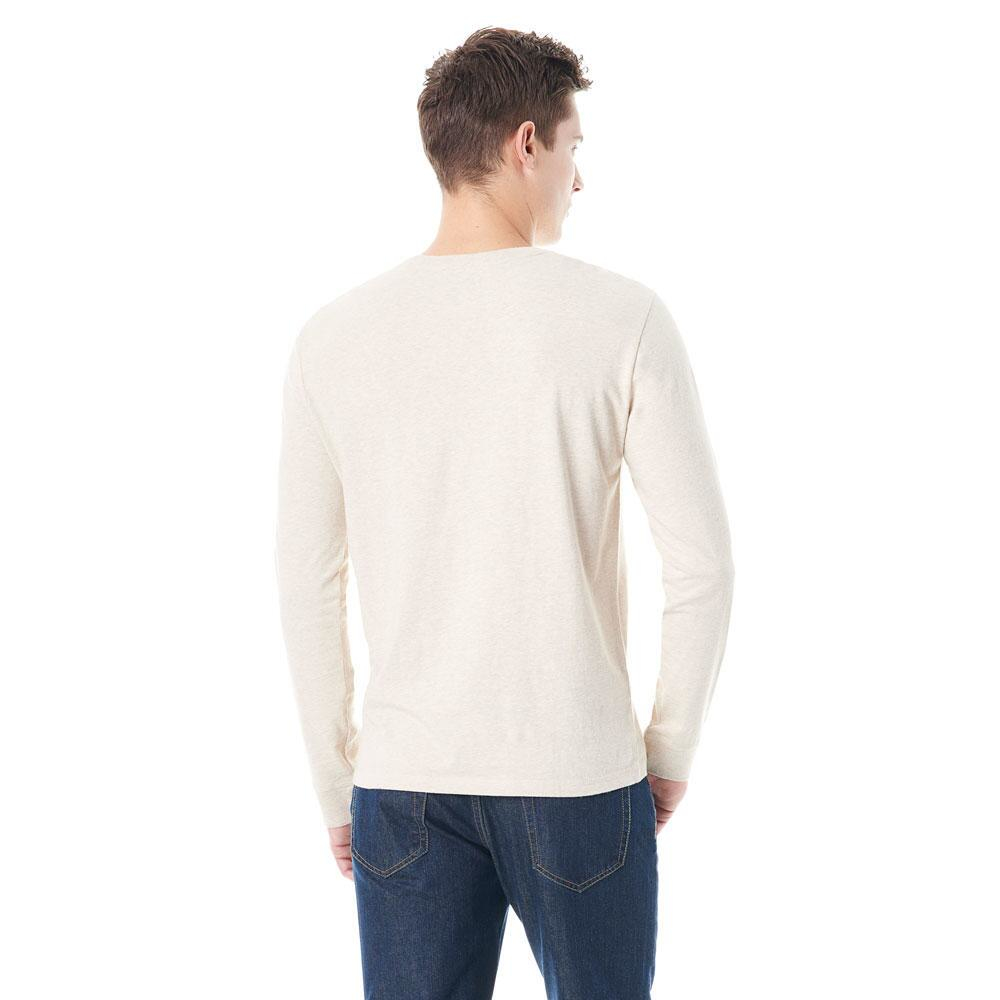 G h bass co long sleeve fishing tee in natural for men for Long sleeve fishing t shirts