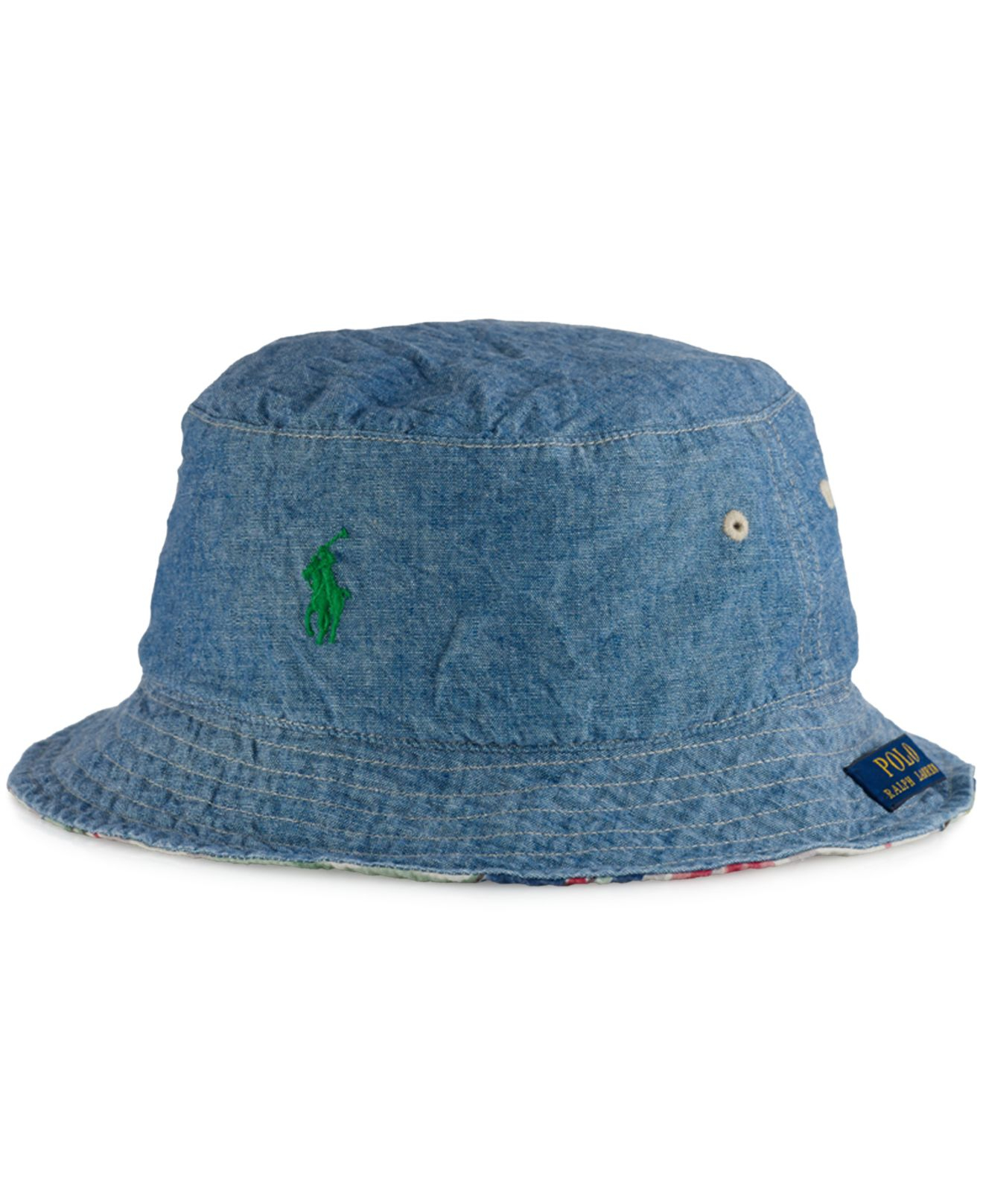 4284cf730a4 Lyst - Polo Ralph Lauren Big And Tall Reversible Tropical Bucket Hat ...