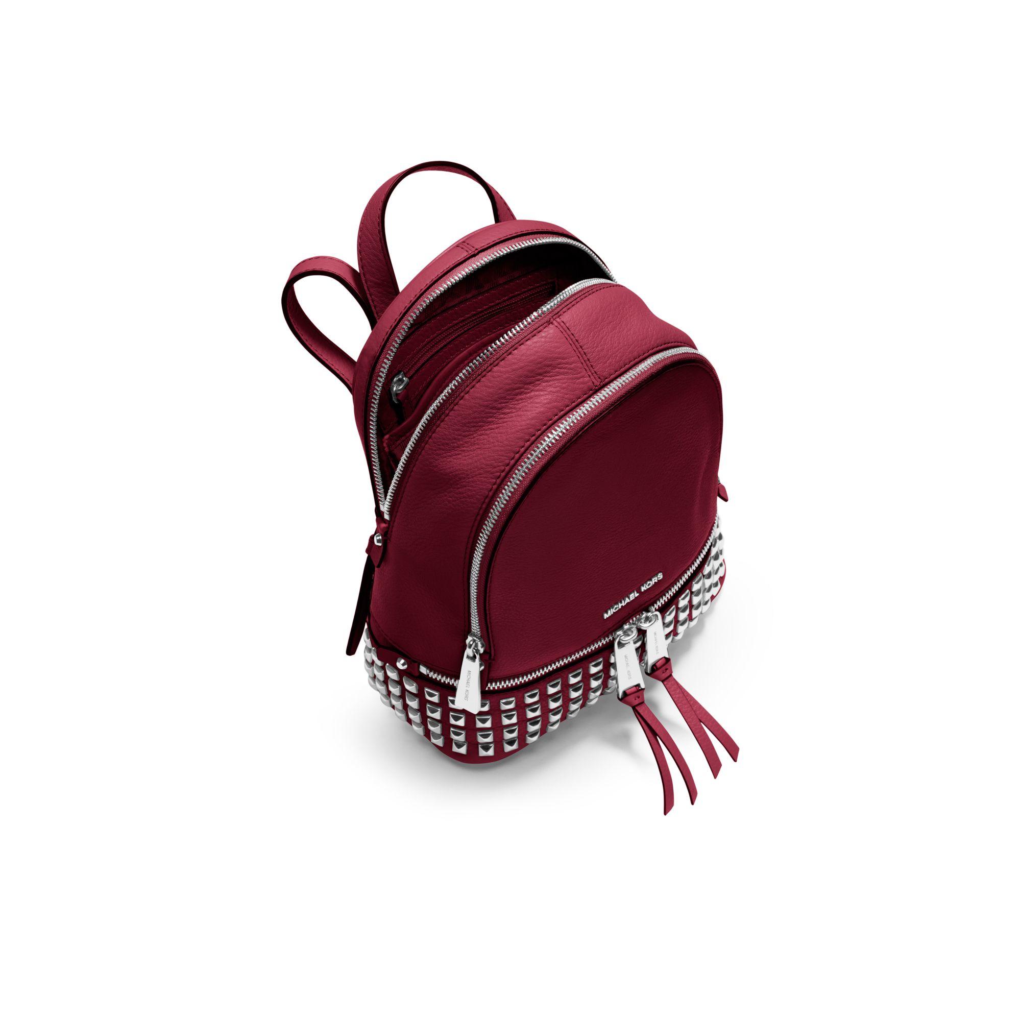 0e4e74a50e01 inexpensive rhea mini perforated leather backpack michael kors b1095 f13fb;  canada michael kors rhea small leather backpack red bbdcf 9fde0