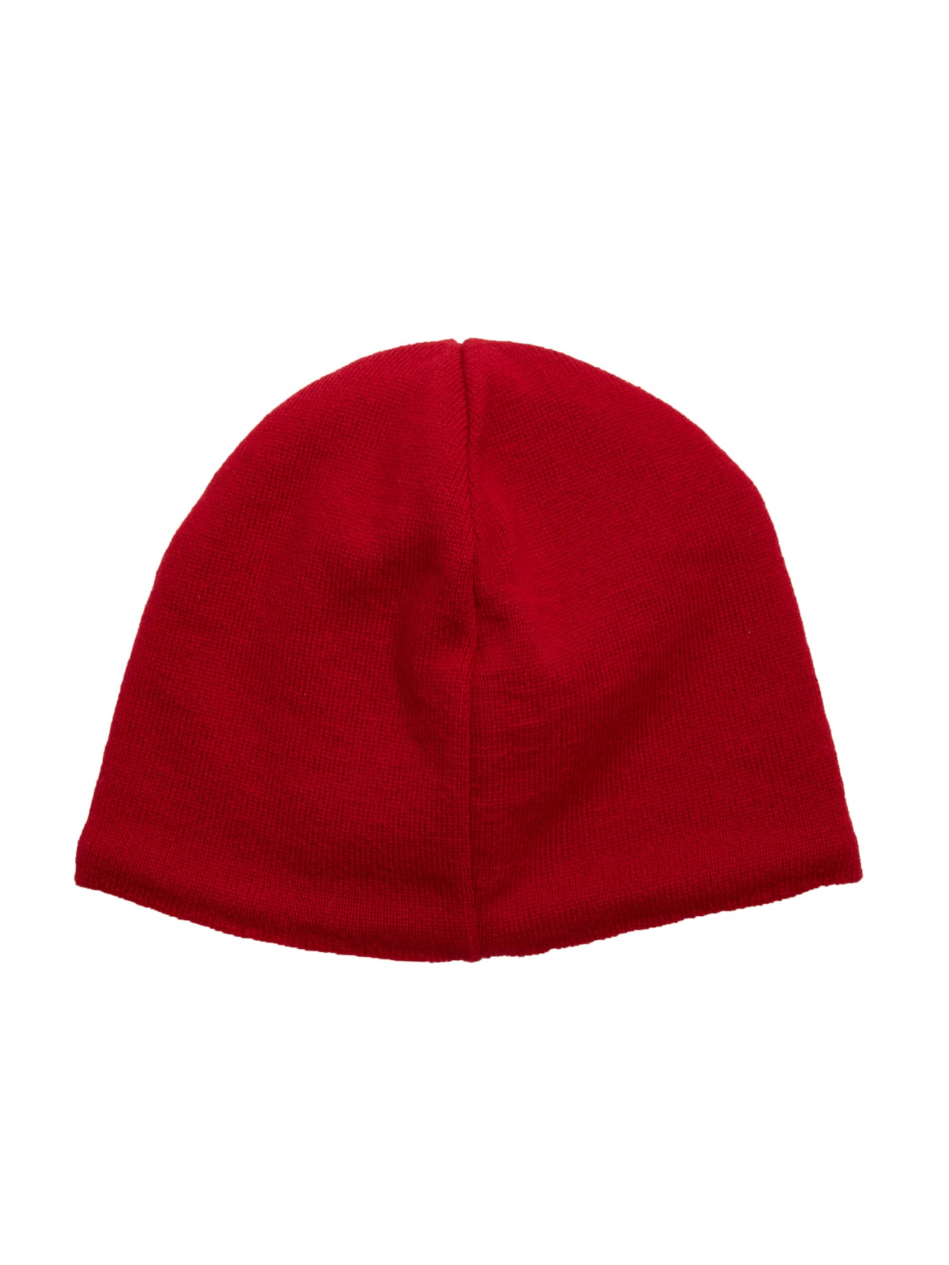 Canada Goose Fleece Lined Wool Beanie Hat In Red For Men