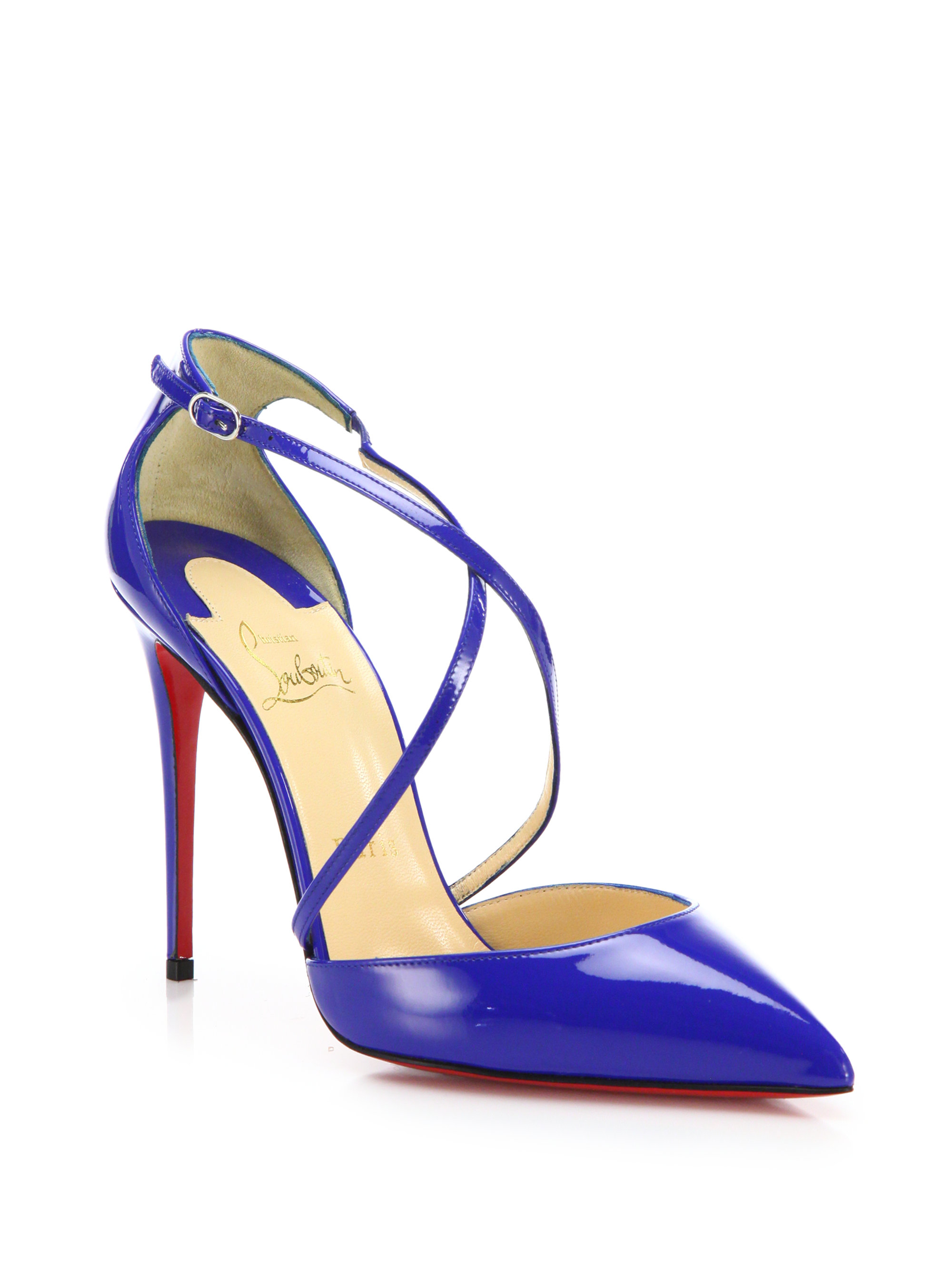 various colors 4b537 53011 australia christian louboutin blue pumps c8490 46870