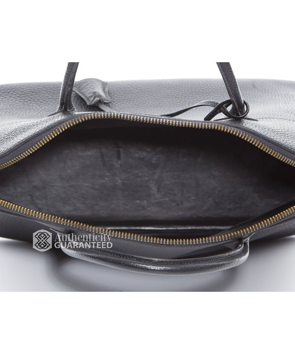 hermes bolide leather bowling bag