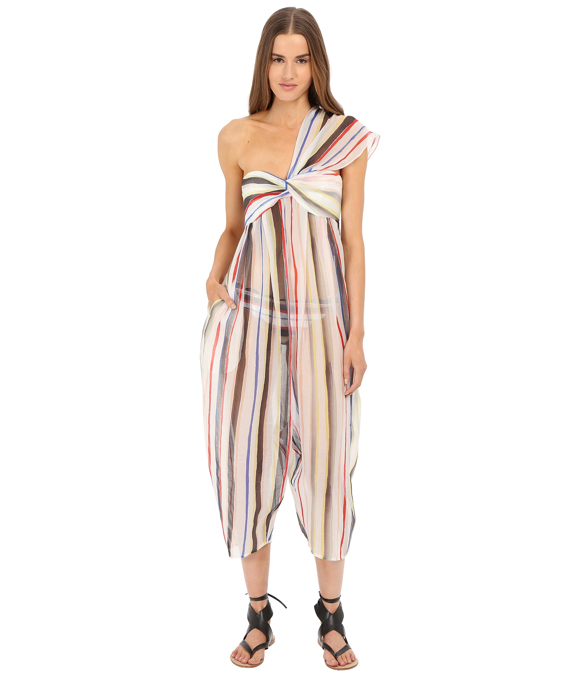 a9fed633793f Lyst - Marysia Swim Venice Jumpsuit Cover-up in Natural