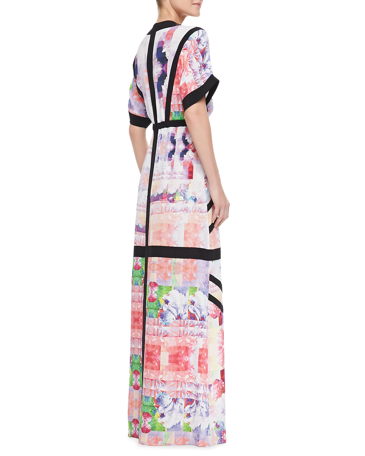 Lyst Suboo Floral Rise Maxi Coverup Dress