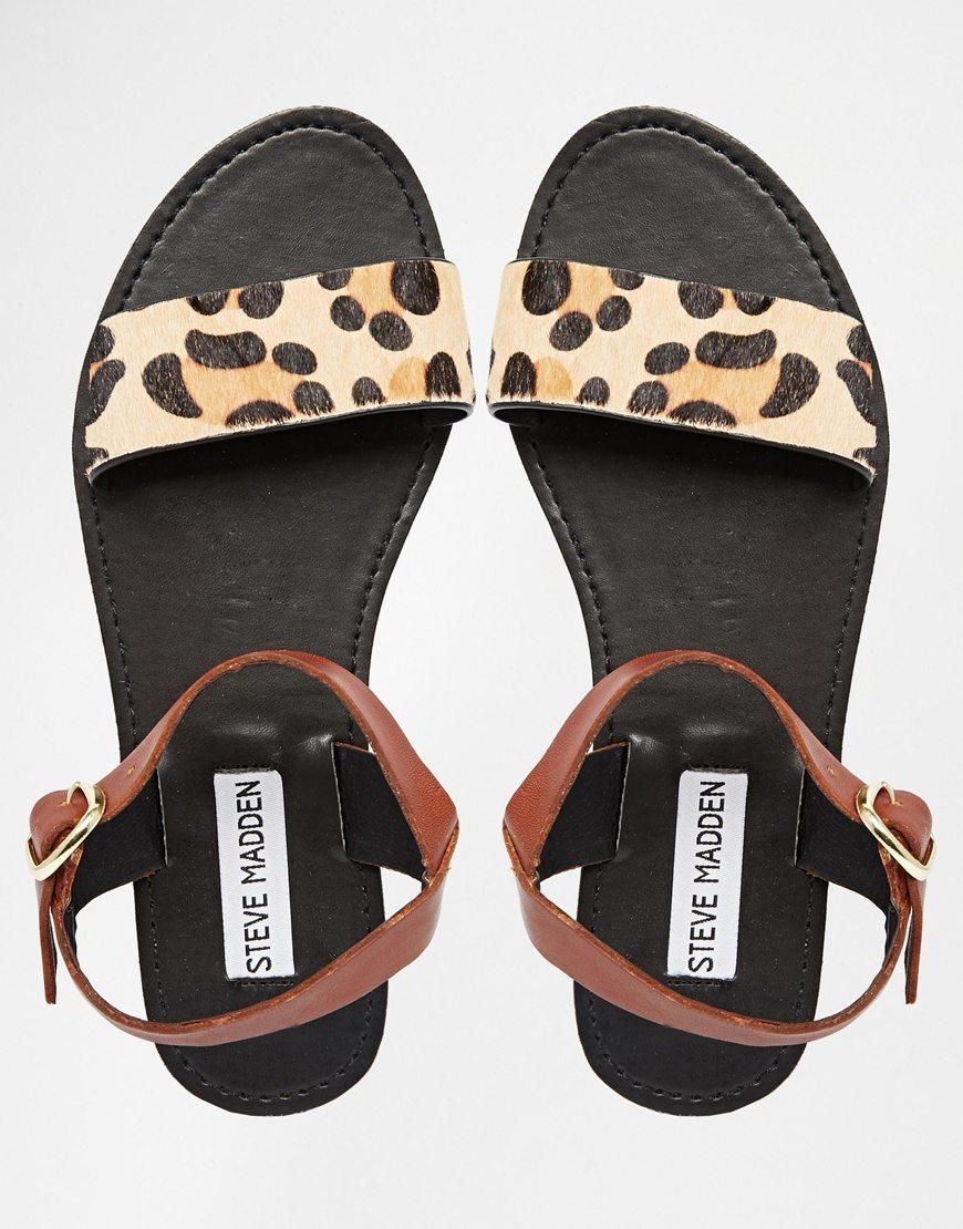 Steve Madden Gonzo V Heel Blue Velvet Women Sandals With Fur 100 Quality Guarantee