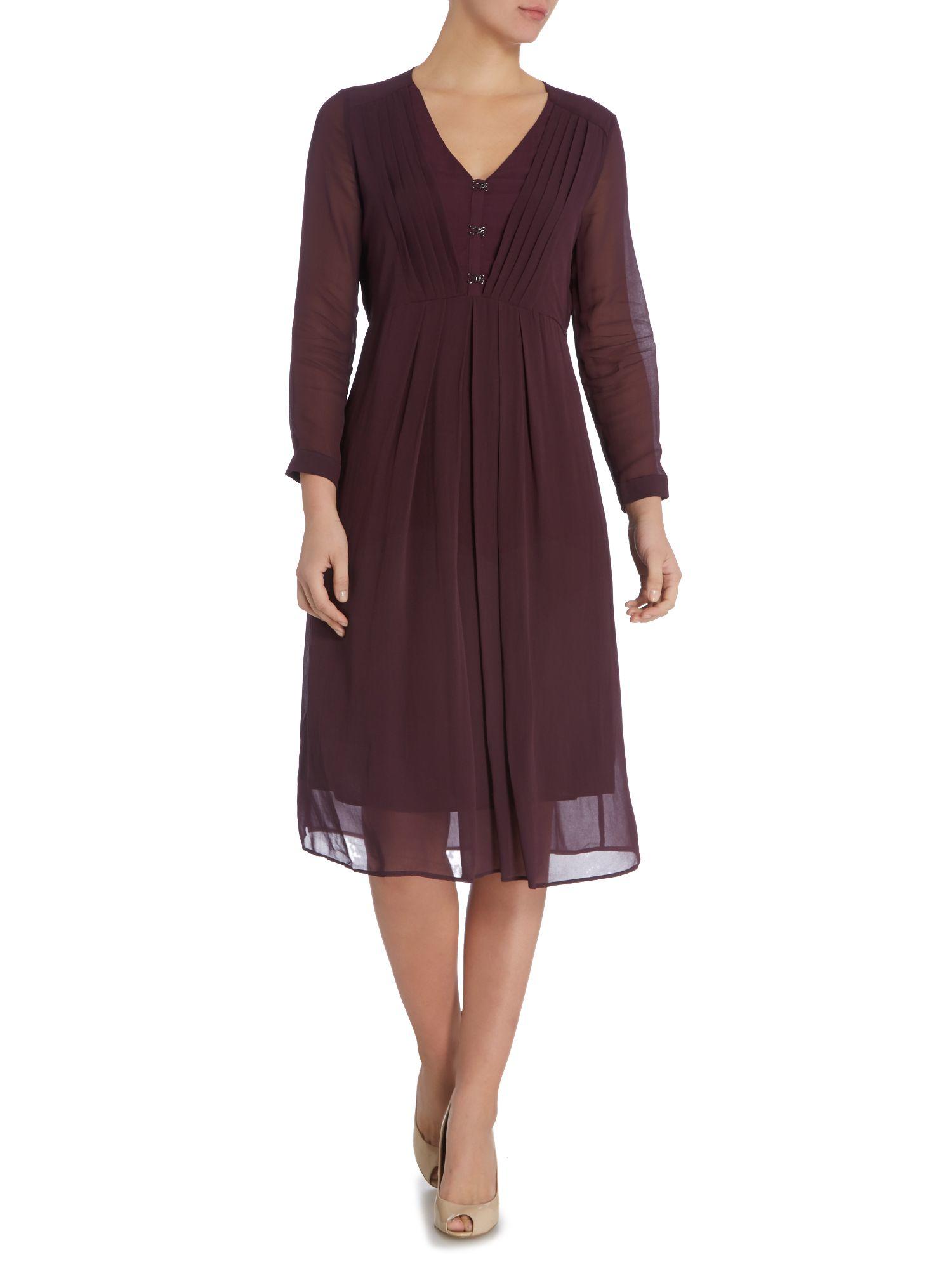 Noa noa Dress Long Sleeve in Purple  Lyst