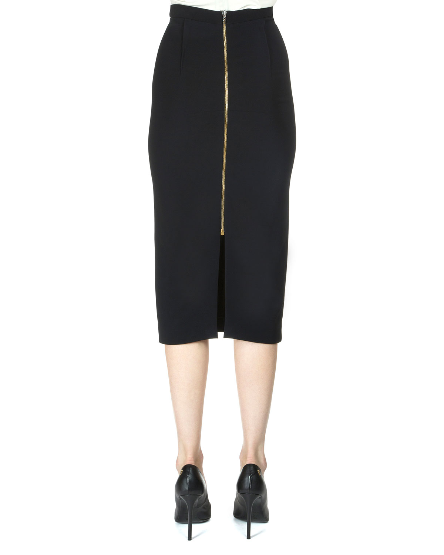 roland mouret arreton pencil skirt in black lyst