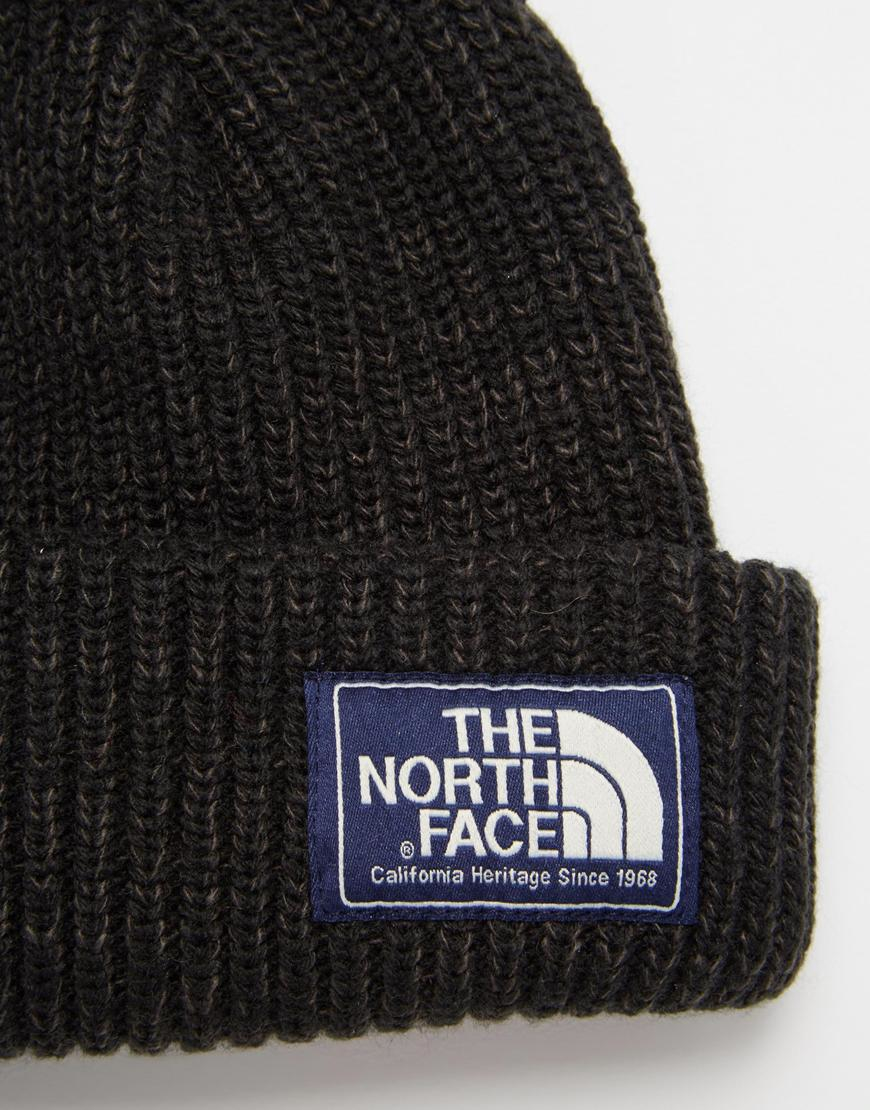 89f2561d47d Lyst - The North Face Salty Dog Beanie Hat in Black for Men