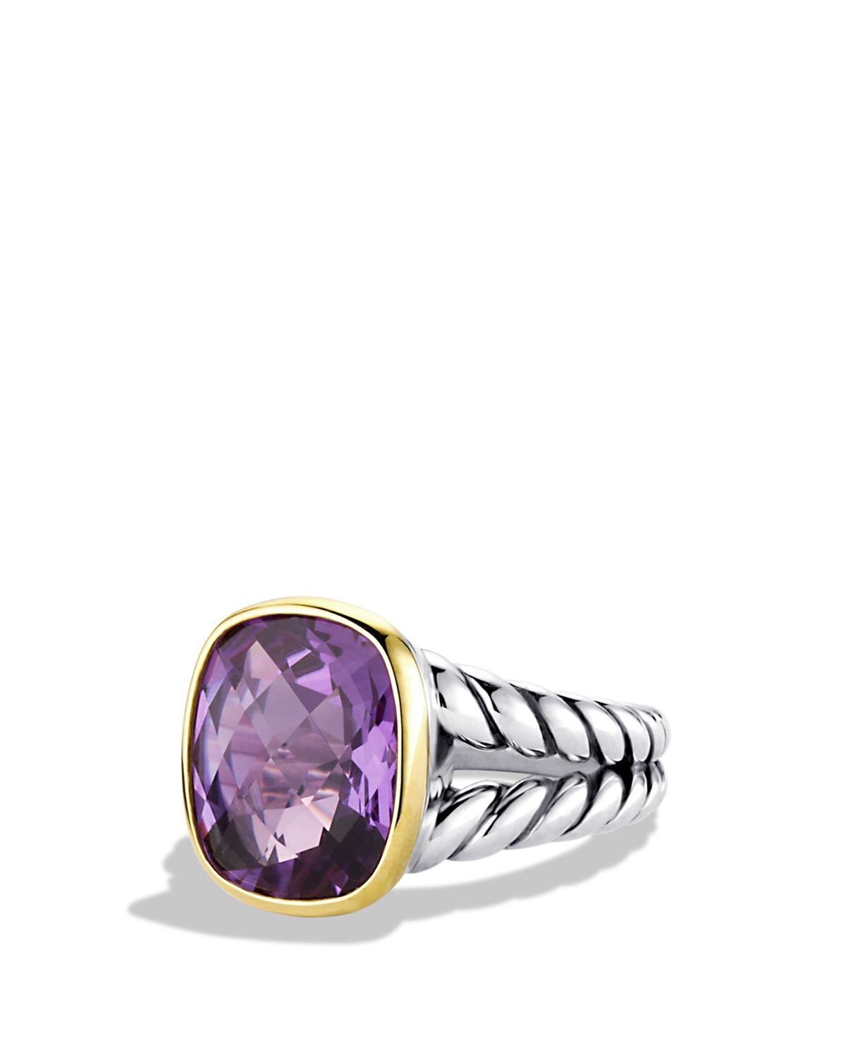 David yurman noblesse ring with amethyst and gold in for David yurman inspired jewelry rings