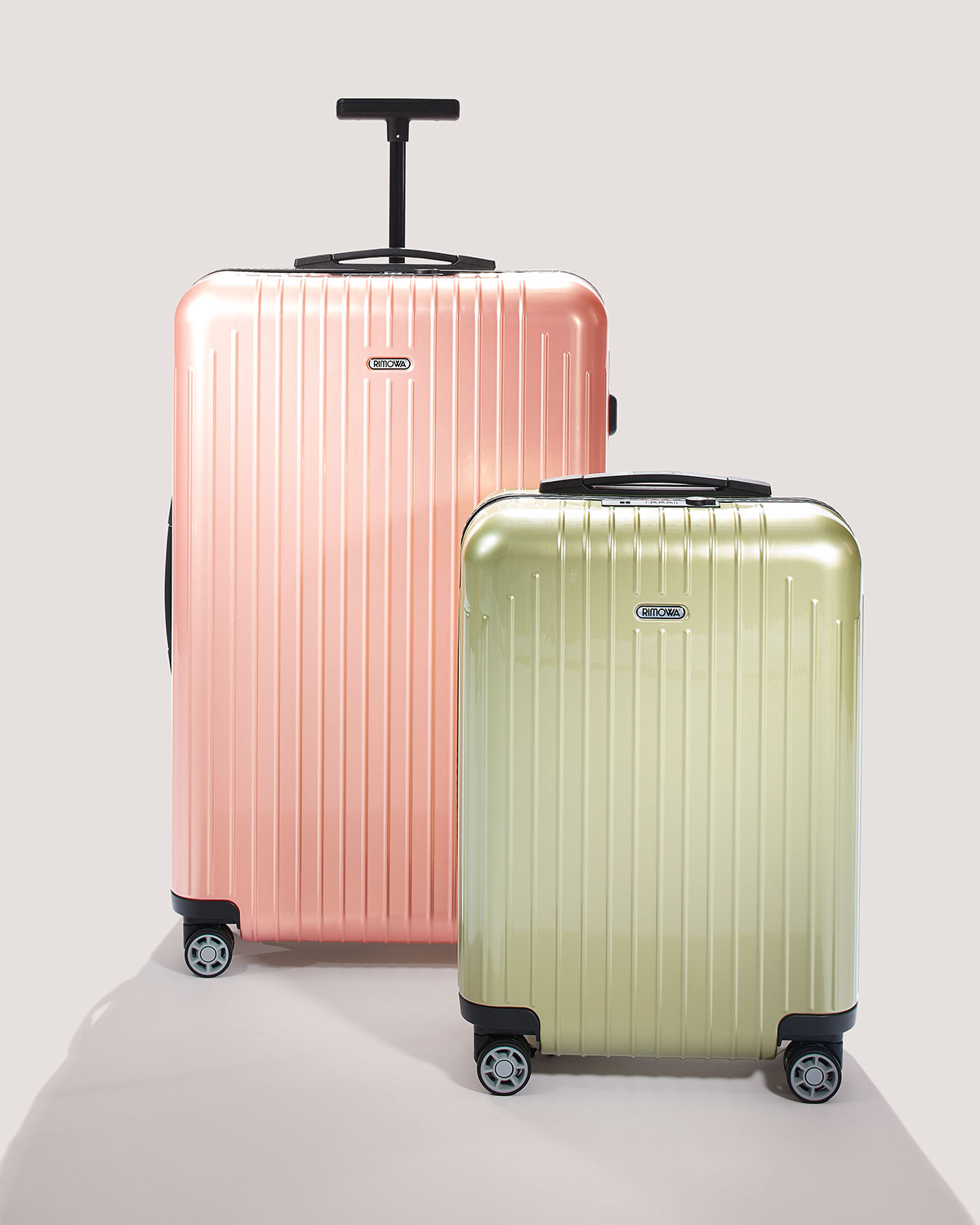rimowa salsa air pearl rose cabin multiwheel in pink lyst. Black Bedroom Furniture Sets. Home Design Ideas