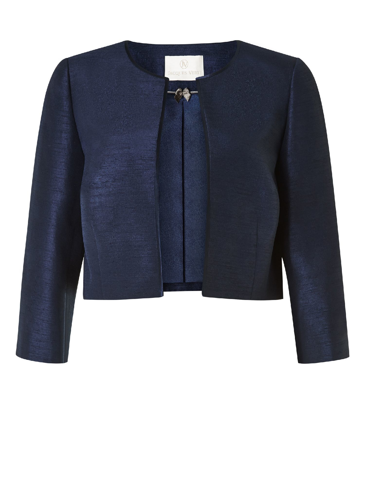 Jacques Vert Edge To Edge Jacket In Blue Lyst