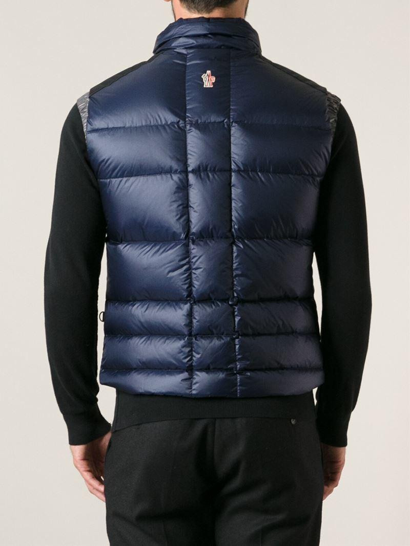 moncler gilet jacket mens