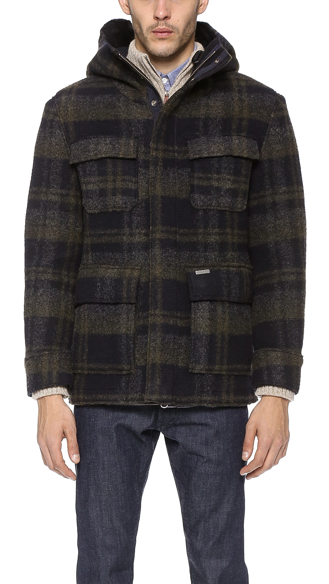 Woolrich Felted Mountain Jacket