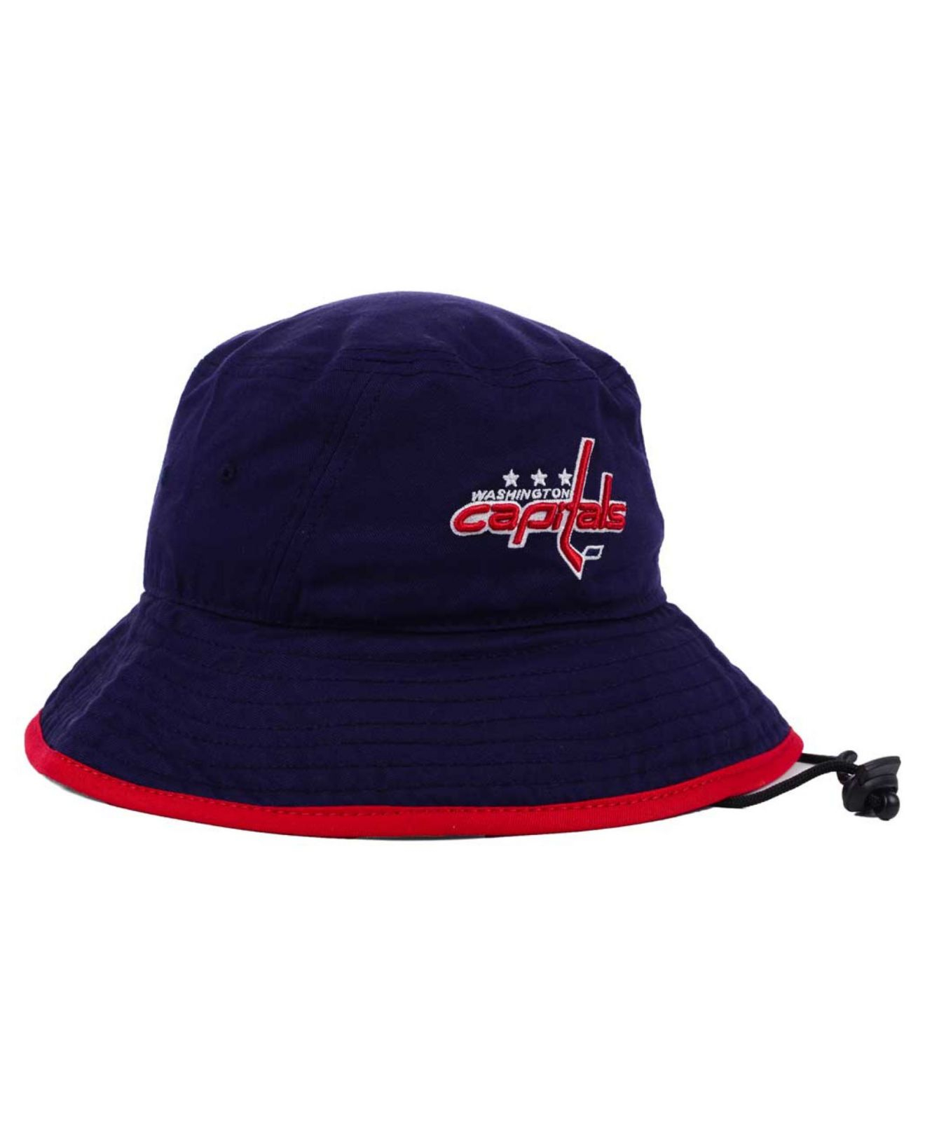 ... competitive price 33571 d83b2 Lyst - Ktz Washington Capitals Basic  Tipped Bucket Hat in Bl ... fe8e92328bd