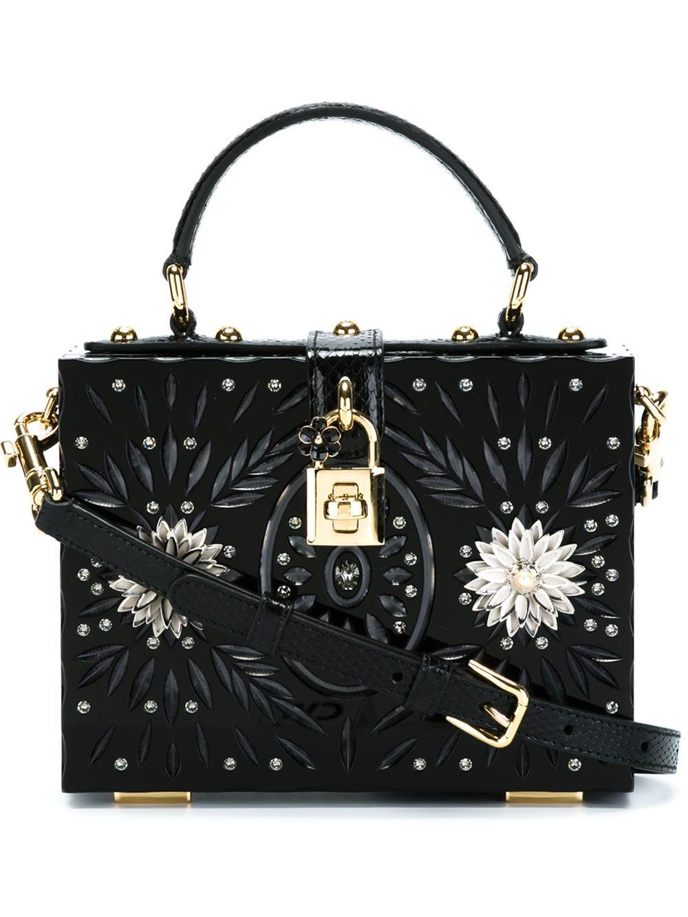Msgm Box Tote Bag
