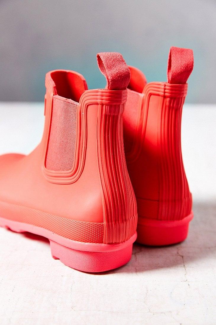 Neon Pink Rain Boots Yu Boots