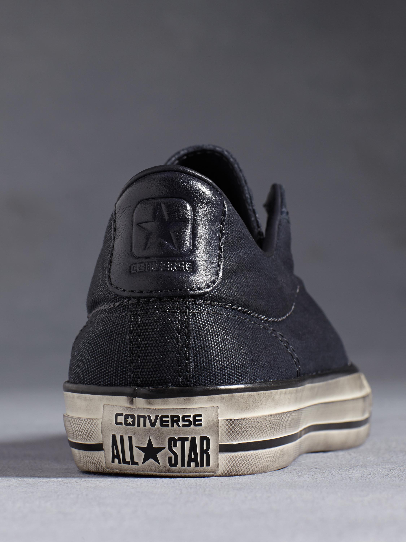 Lyst - John Varvatos Chuck Taylor All Star Vintage Slip Burnished ... 5ebdc5865