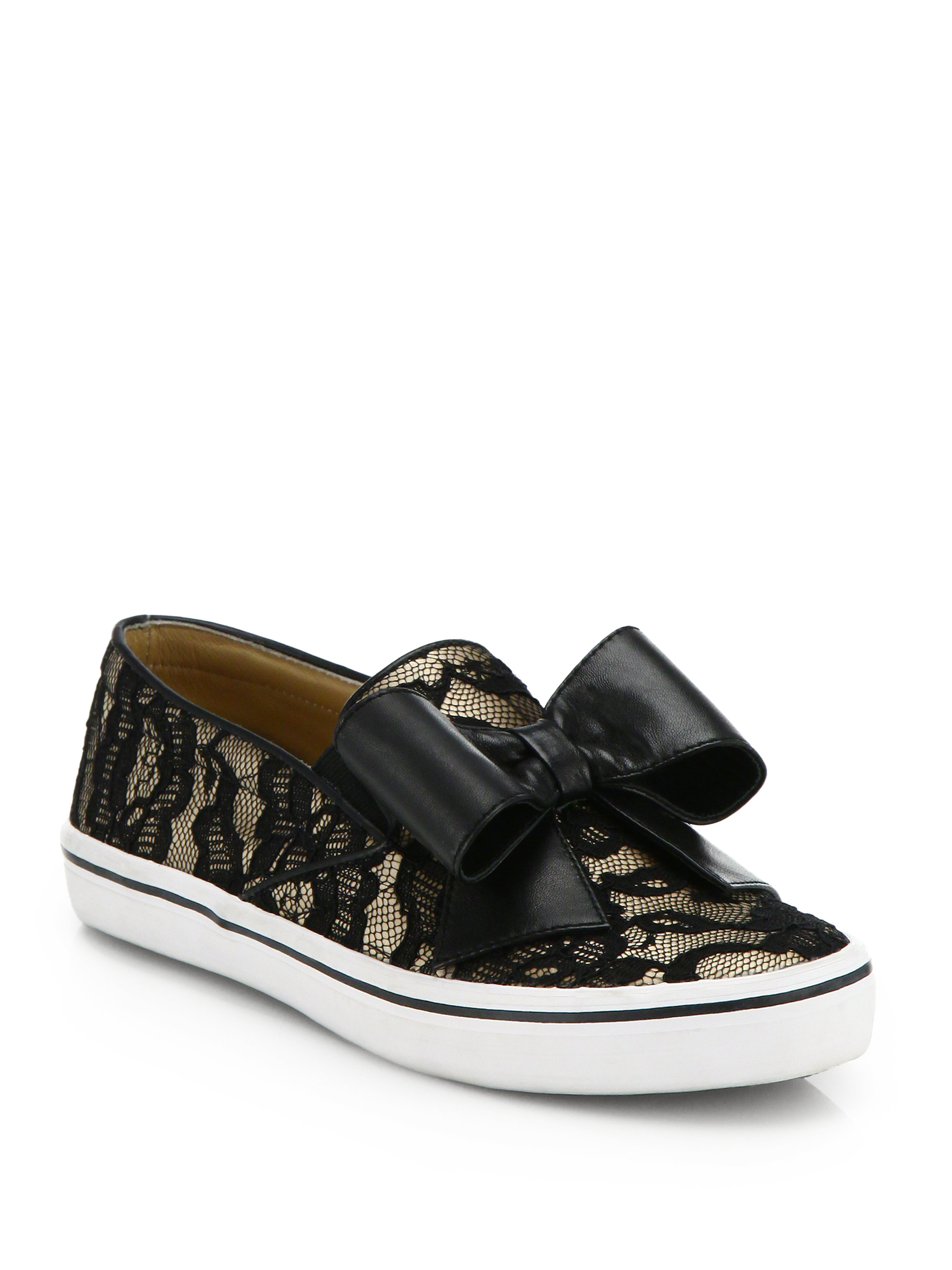 kate spade delise leopard print haircalf sneakers in animal leopard lyst. Black Bedroom Furniture Sets. Home Design Ideas