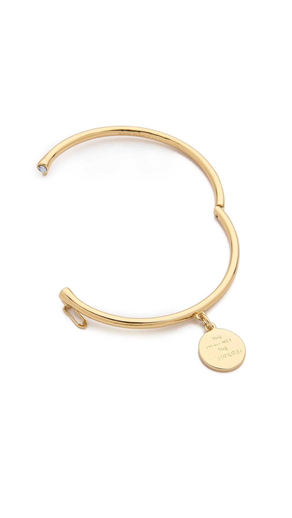 Kate Spade New York Zodiac Charm Bangle Bracelet