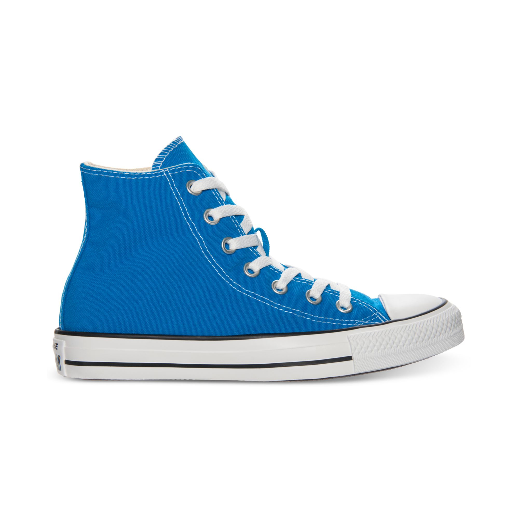 37819b1b1f70b6 Lyst - Converse Chuck Taylor Hi Top Casual Sneakers in Blue for Men
