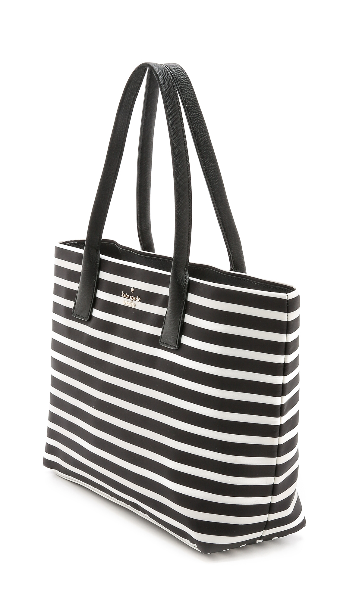 Kate Spade Black And White Striped Purse Best Image Ccdbb